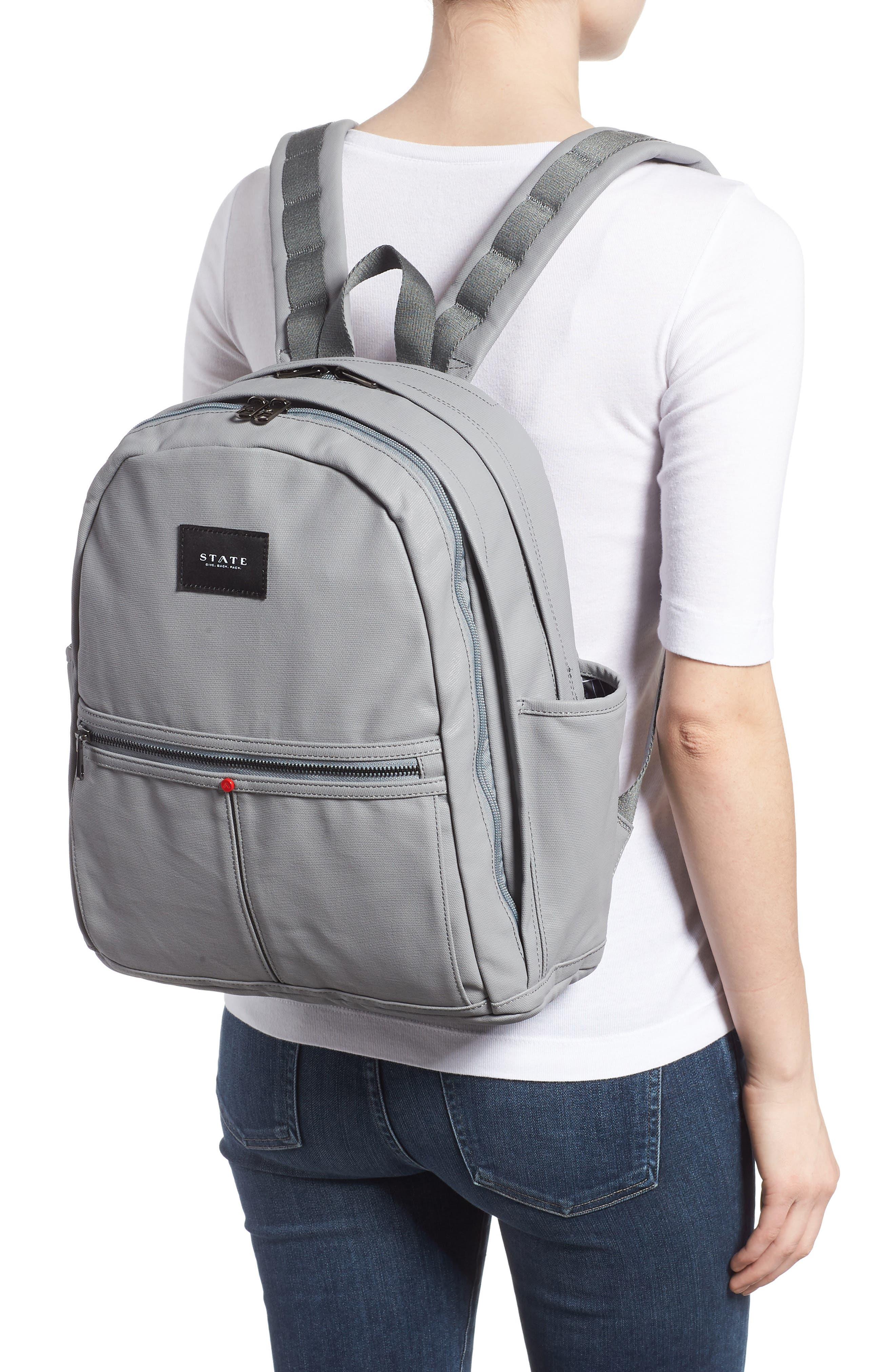 Greenpoint Kent Backpack,                             Alternate thumbnail 2, color,                             Frost Grey
