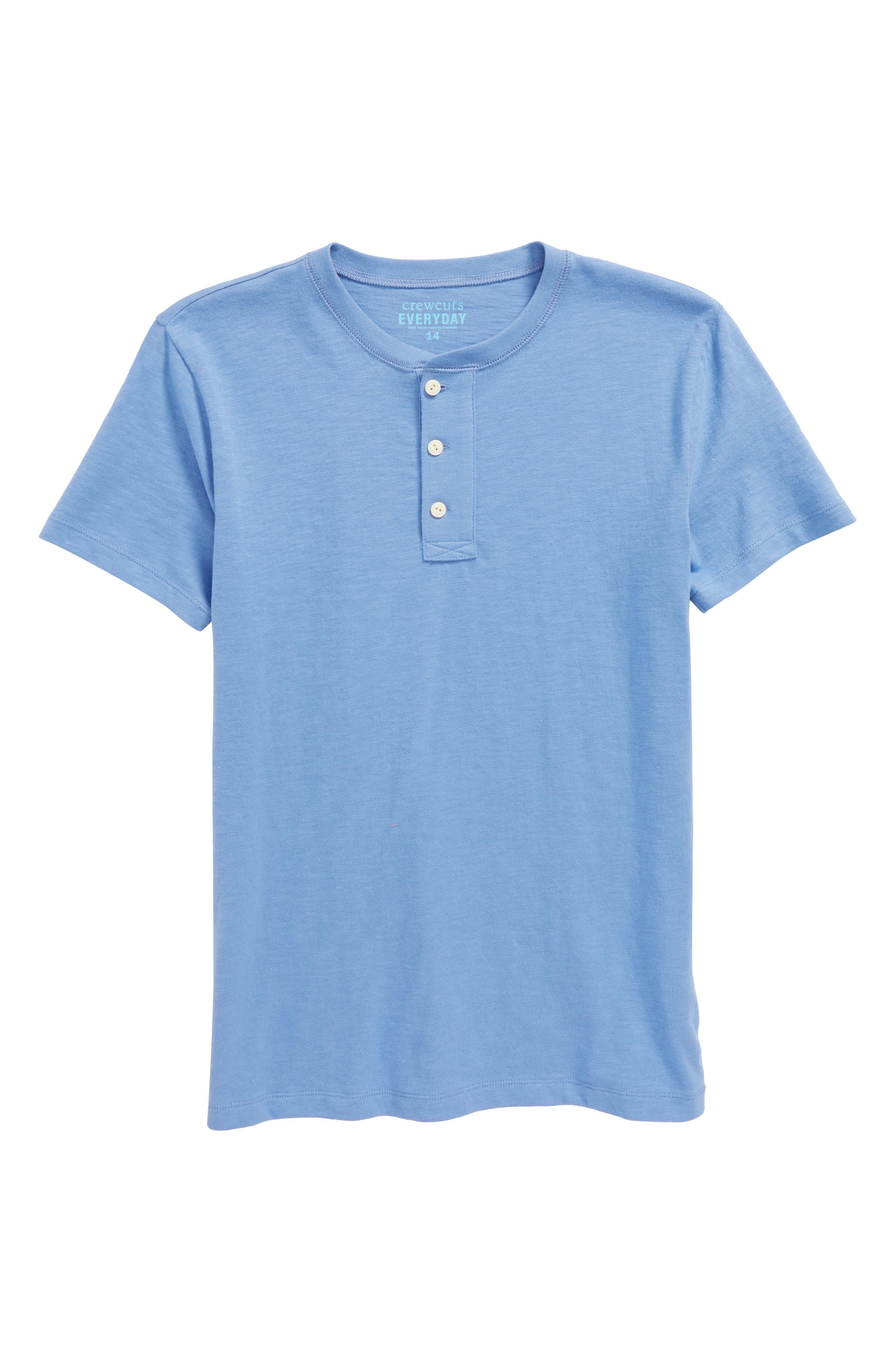 Henley,                         Main,                         color, Retro Blue