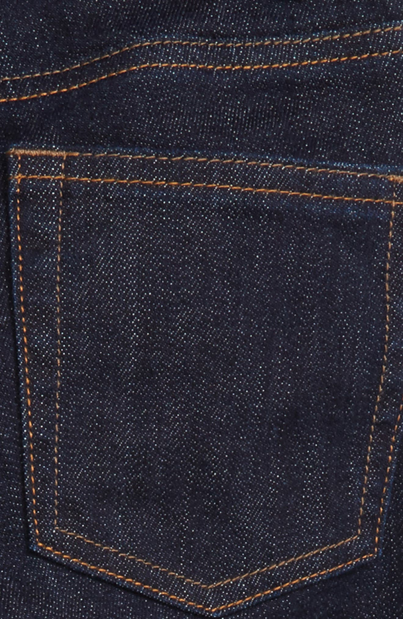 Slim Fit Jeans,                             Alternate thumbnail 3, color,                             Wrinkle Rinse