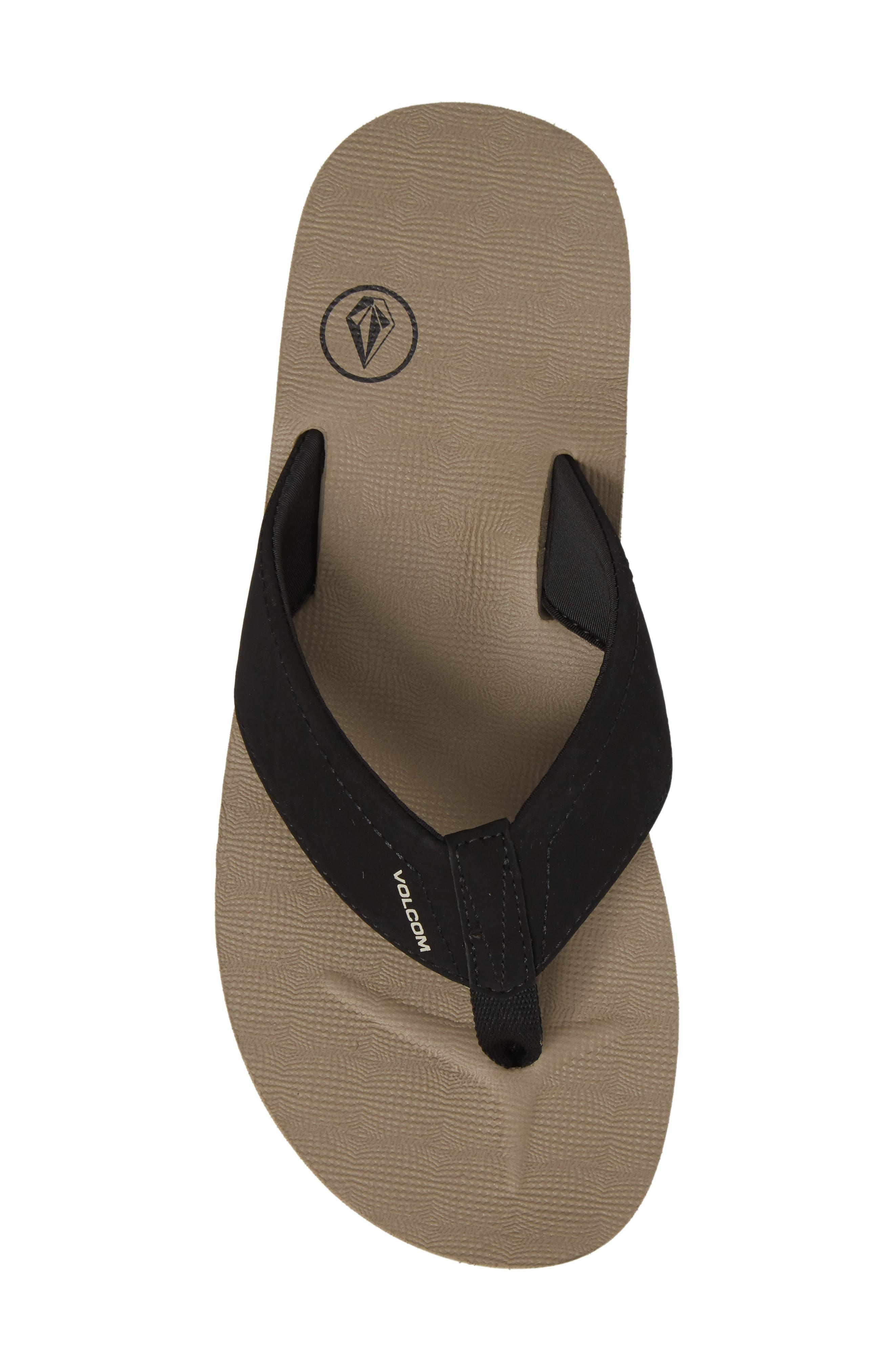 Alternate Image 5  - Volcom 'Victor' Flip Flop (Men)