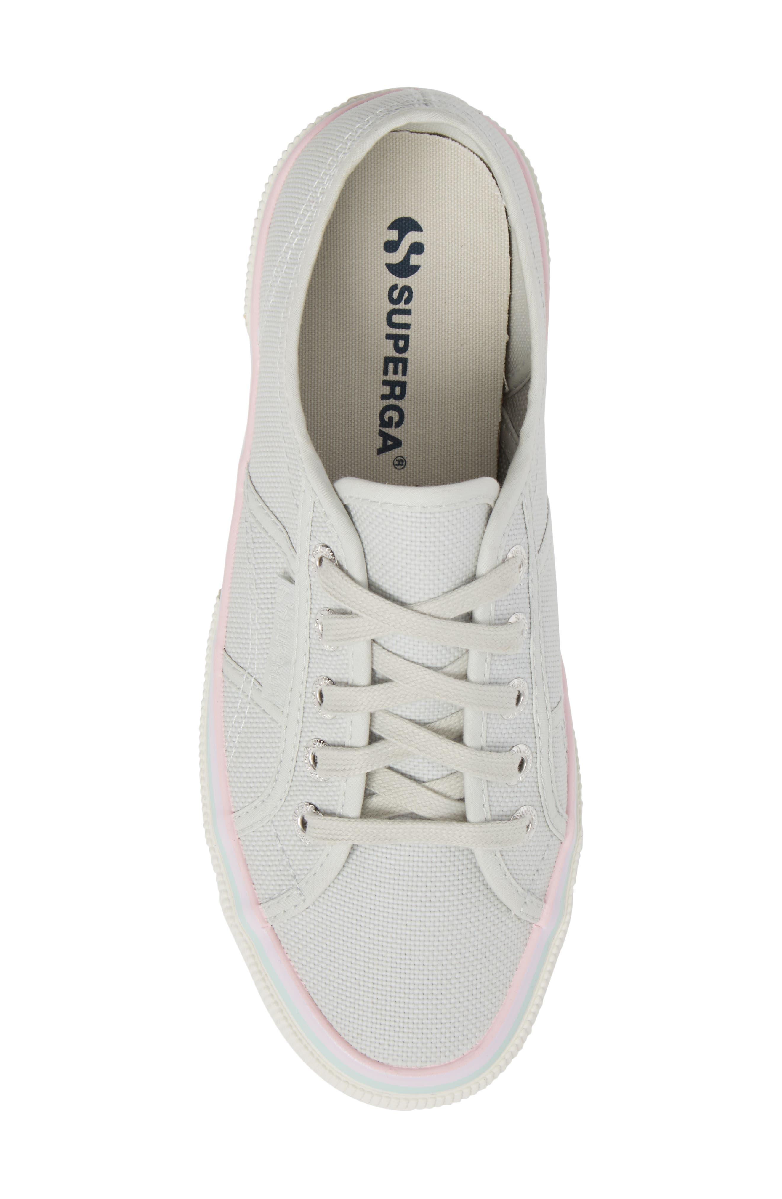 2750 Three-Stripe Sneaker,                             Alternate thumbnail 5, color,                             Aluminum