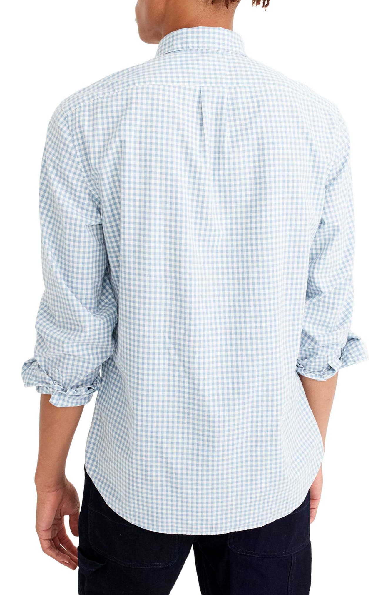 Slim Stretch Secret Wash Sport Shirt,                             Alternate thumbnail 2, color,                             Dusty Peri
