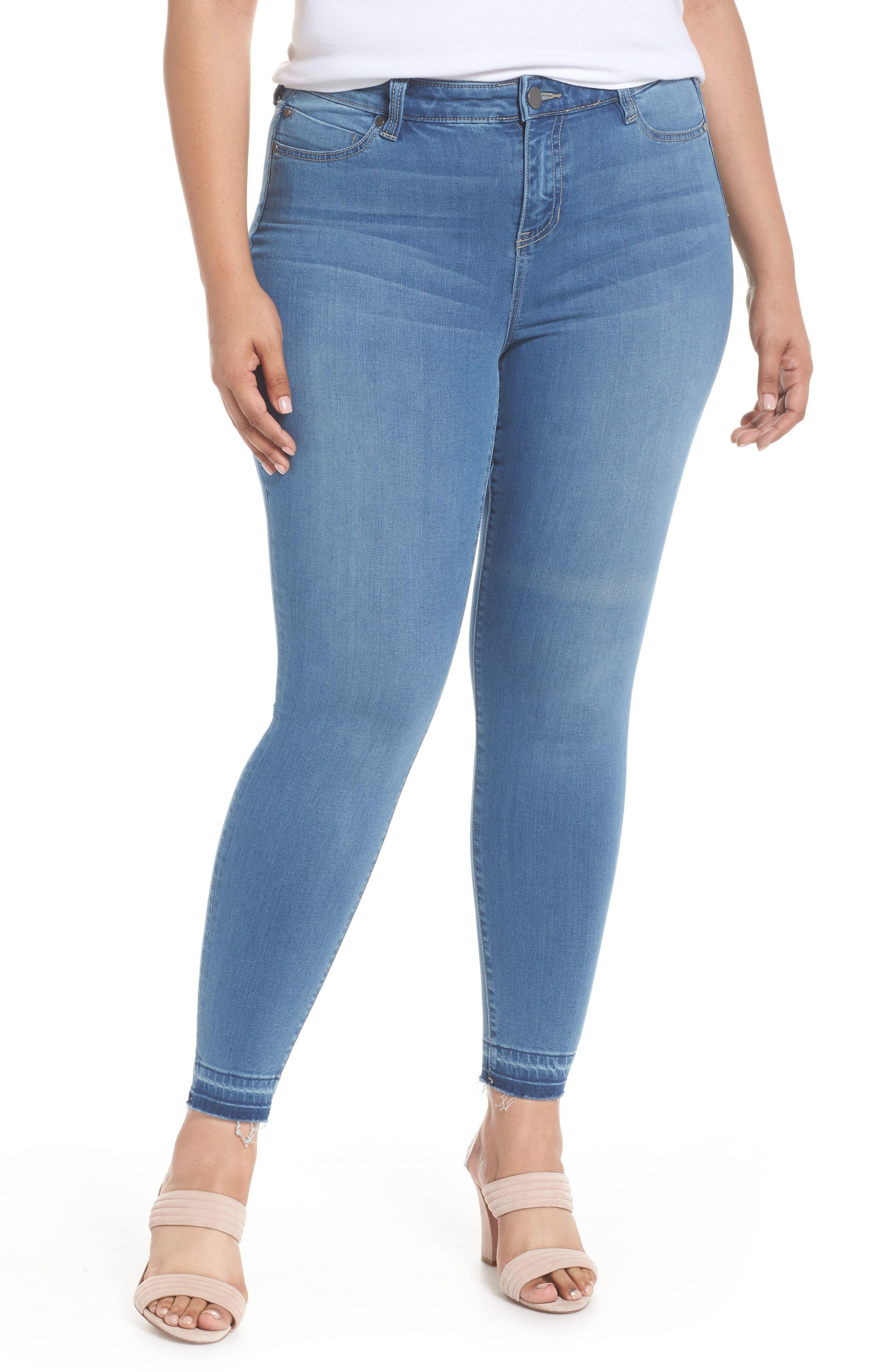 Parker Release Hem Ankle Skinny Jeans,                         Main,                         color, Coleman