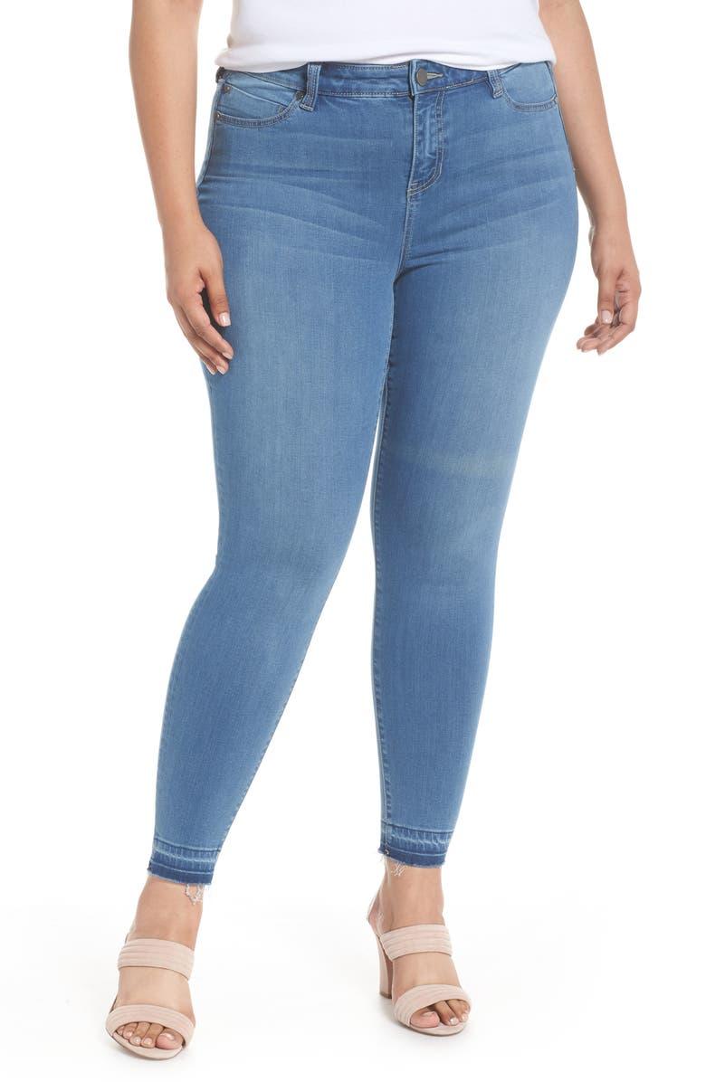 Parker Release Hem Ankle Skinny Jeans