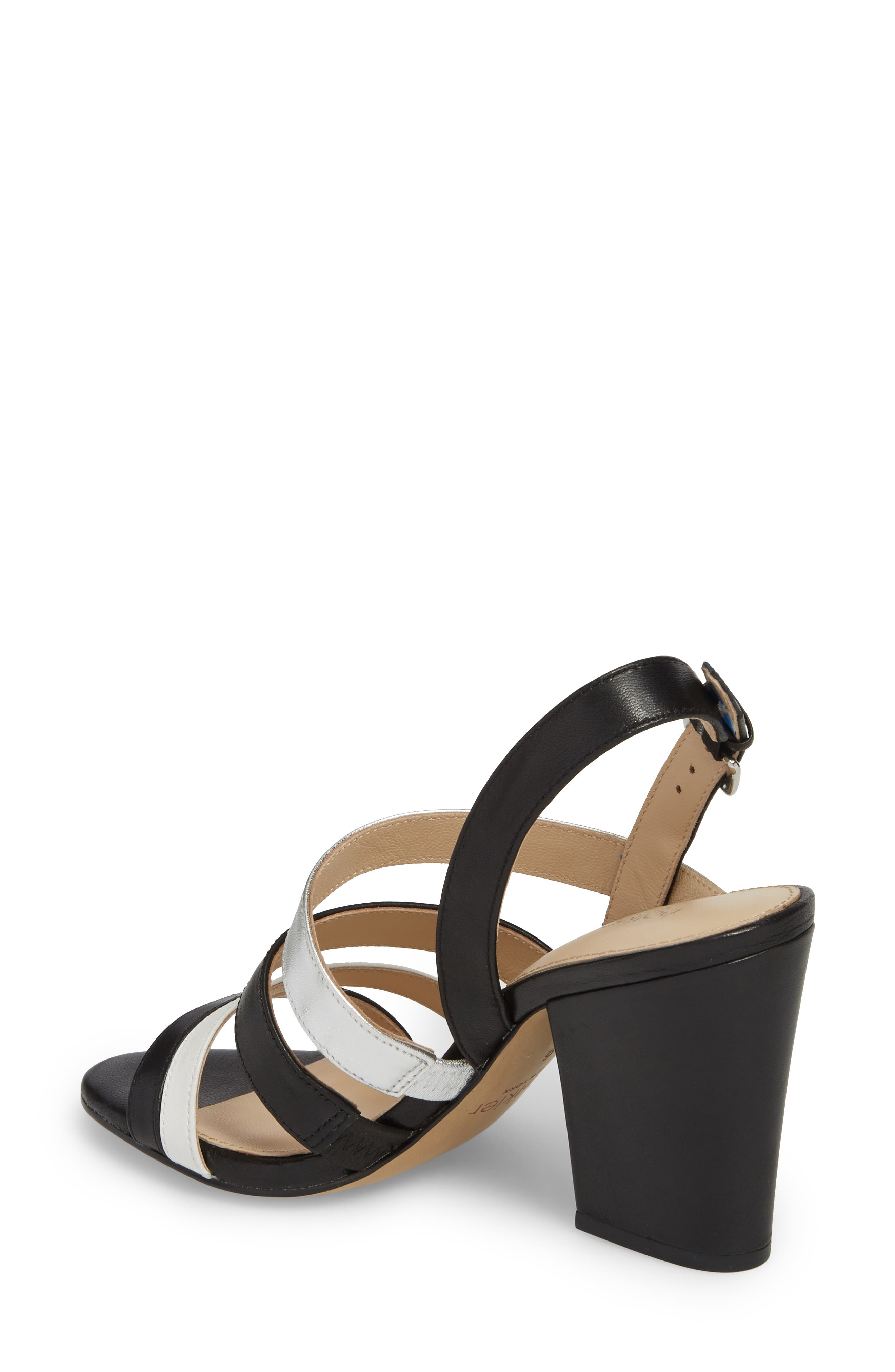 Sera Sandal,                             Alternate thumbnail 2, color,                             Black Multi Leather