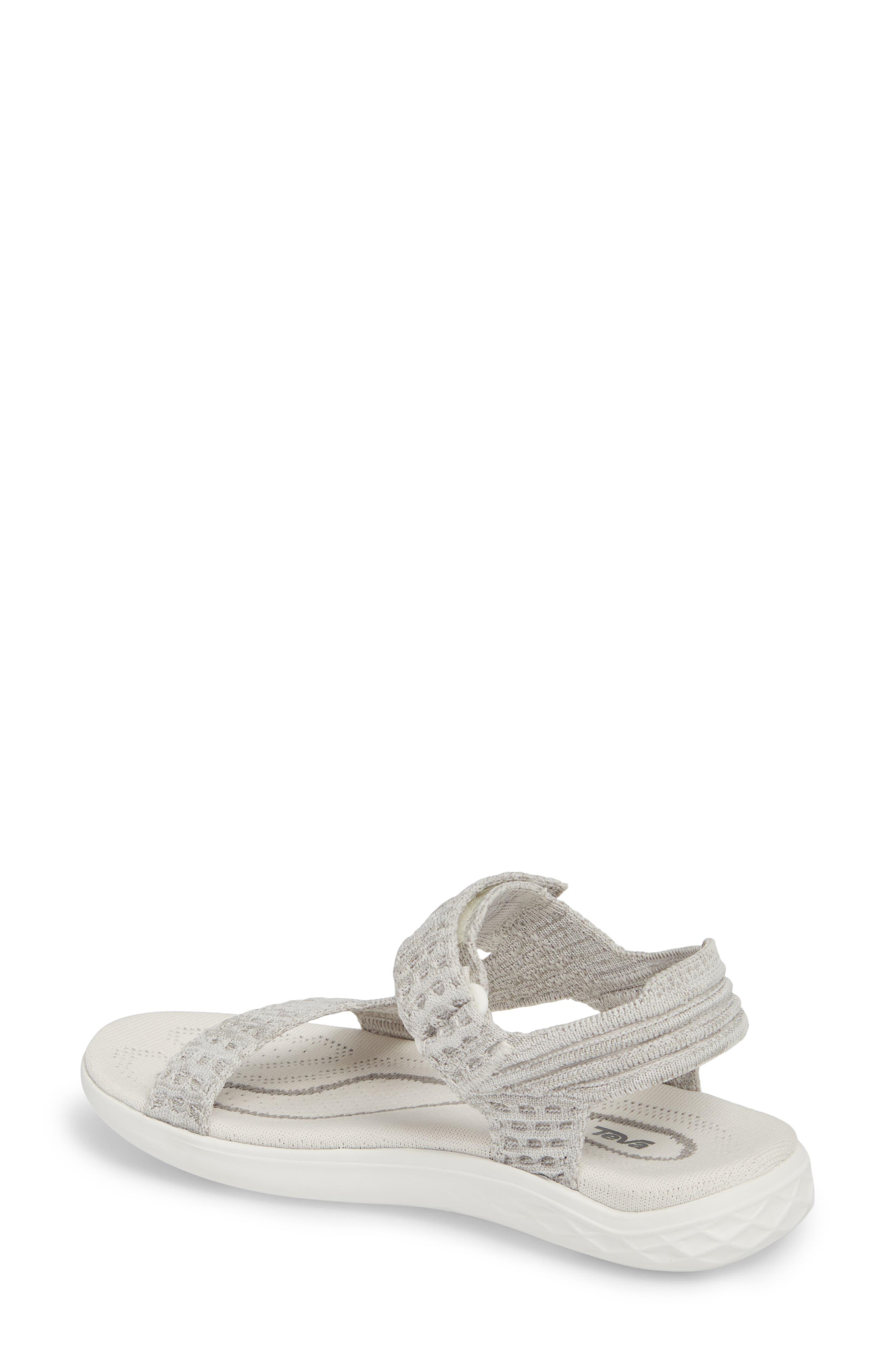 Terra Float 2 Knit Universal Sandal,                             Alternate thumbnail 2, color,                             Bright White Fabric