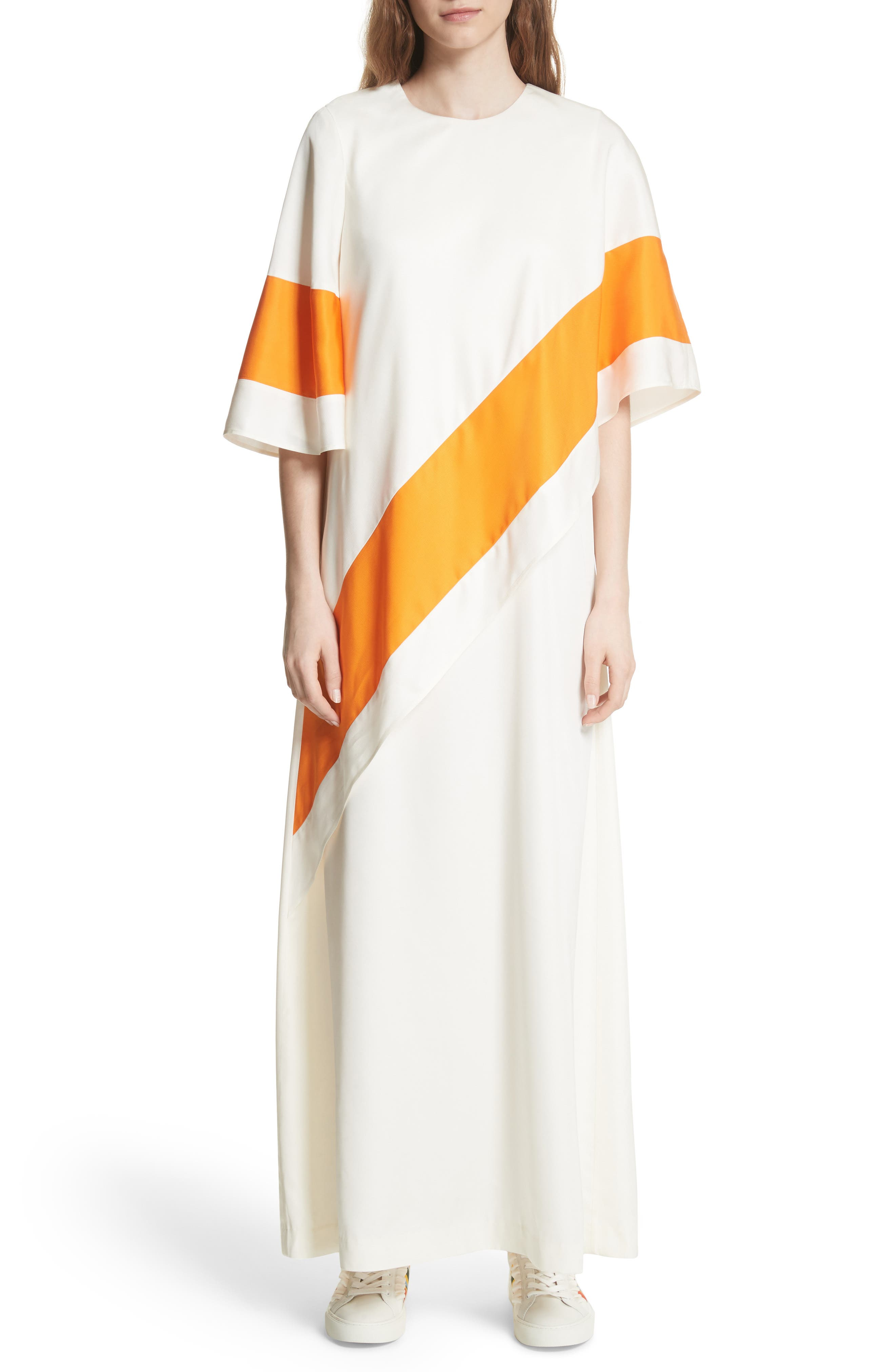 Ronnie Maxi Dress,                         Main,                         color, New Ivory