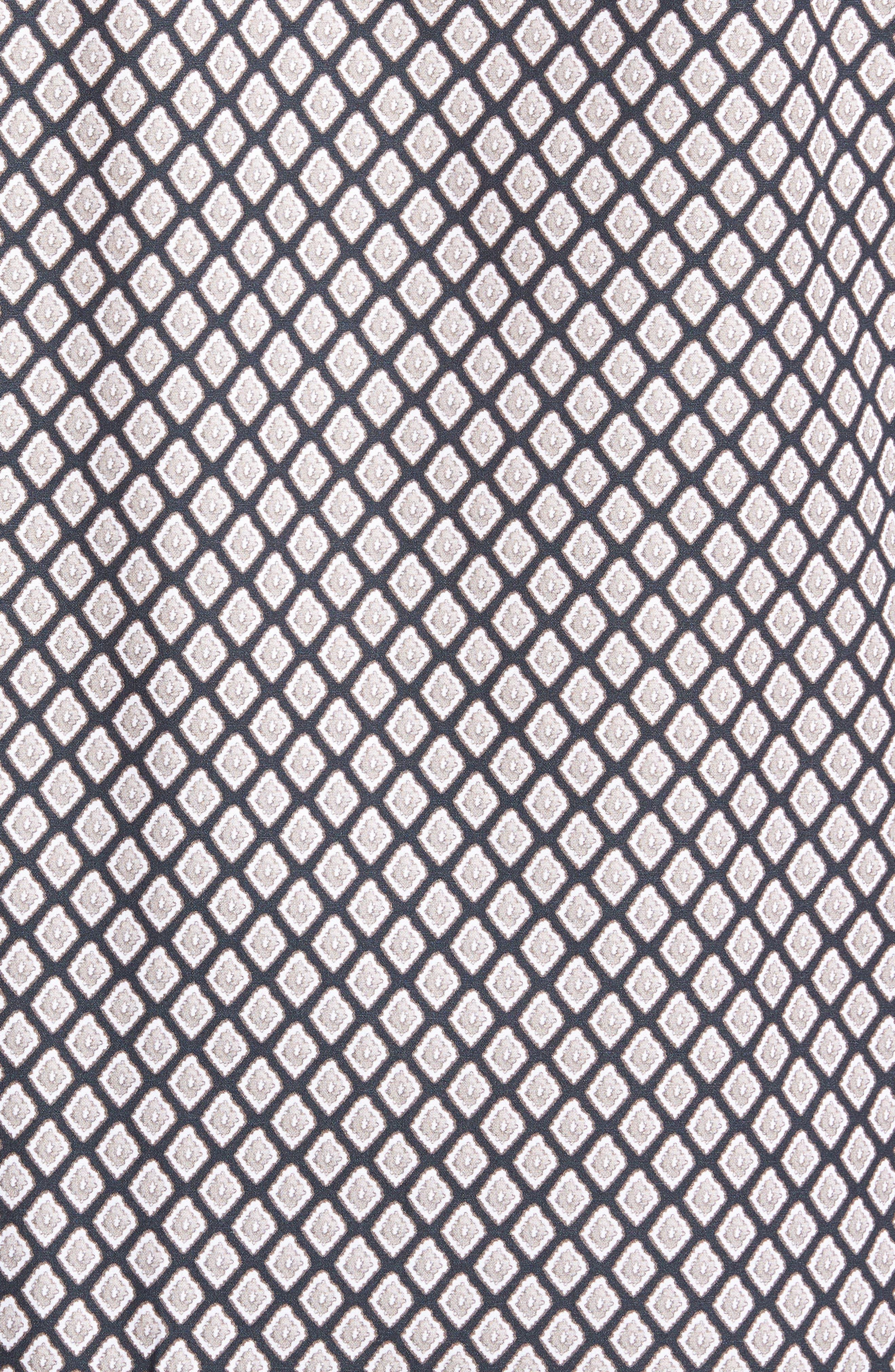 Classic Fit Woven Sport Shirt,                             Alternate thumbnail 5, color,                             Sand