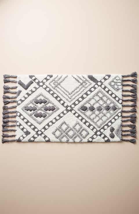stylist and luxury designer bathroom rugs. Anthropologie Maritza Bath Mat Rugs  Mats Nordstrom