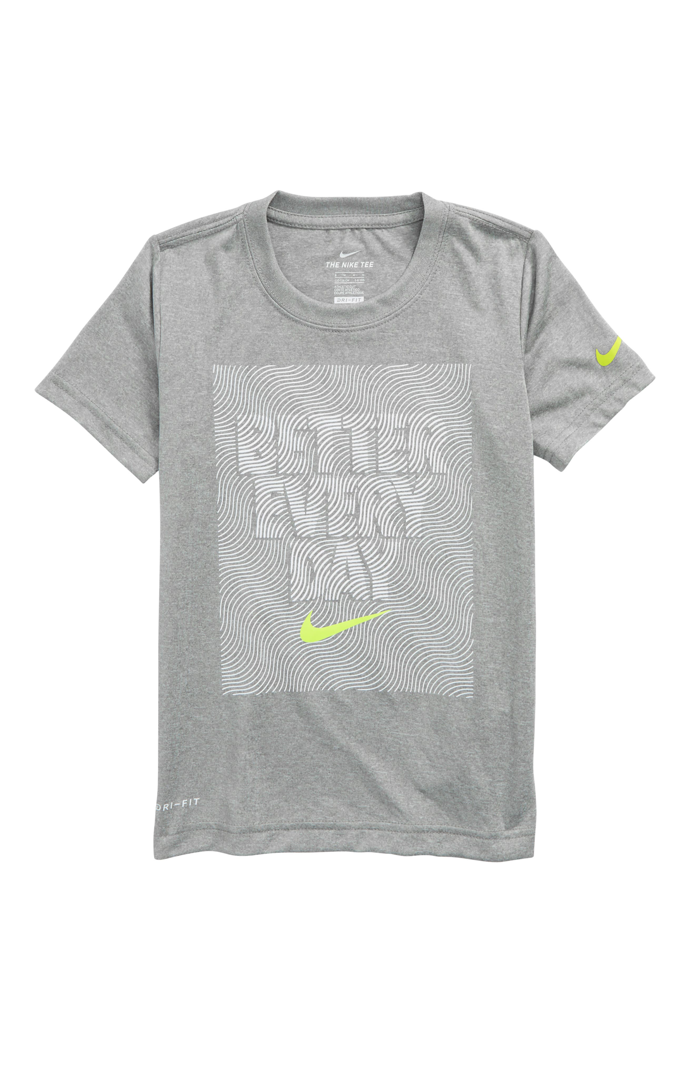 Dry Better Everyday Graphic T-Shirt,                             Main thumbnail 1, color,                             Dark Grey Heather