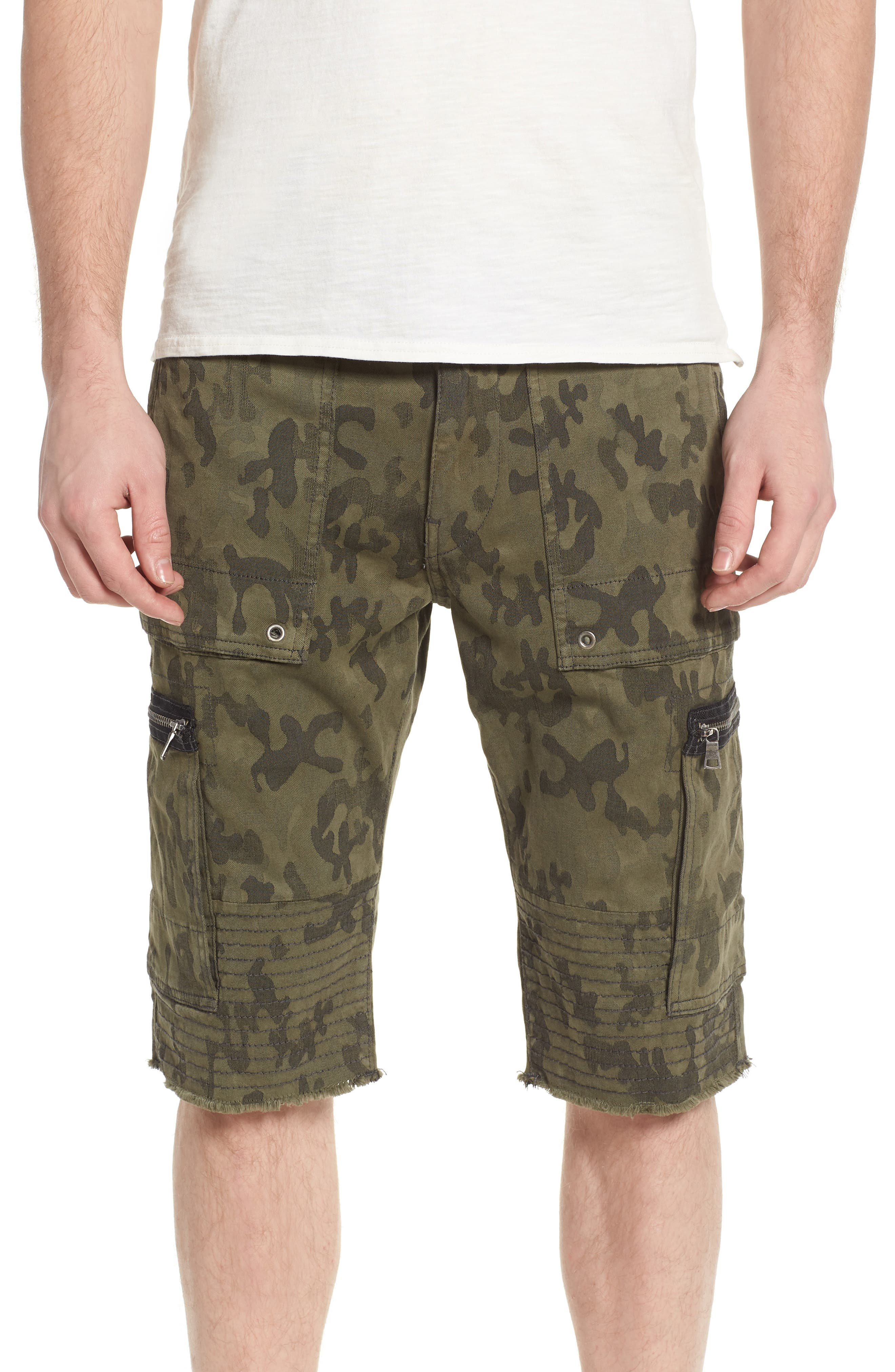 Touring Moto Shorts,                         Main,                         color, Eph Mist Green