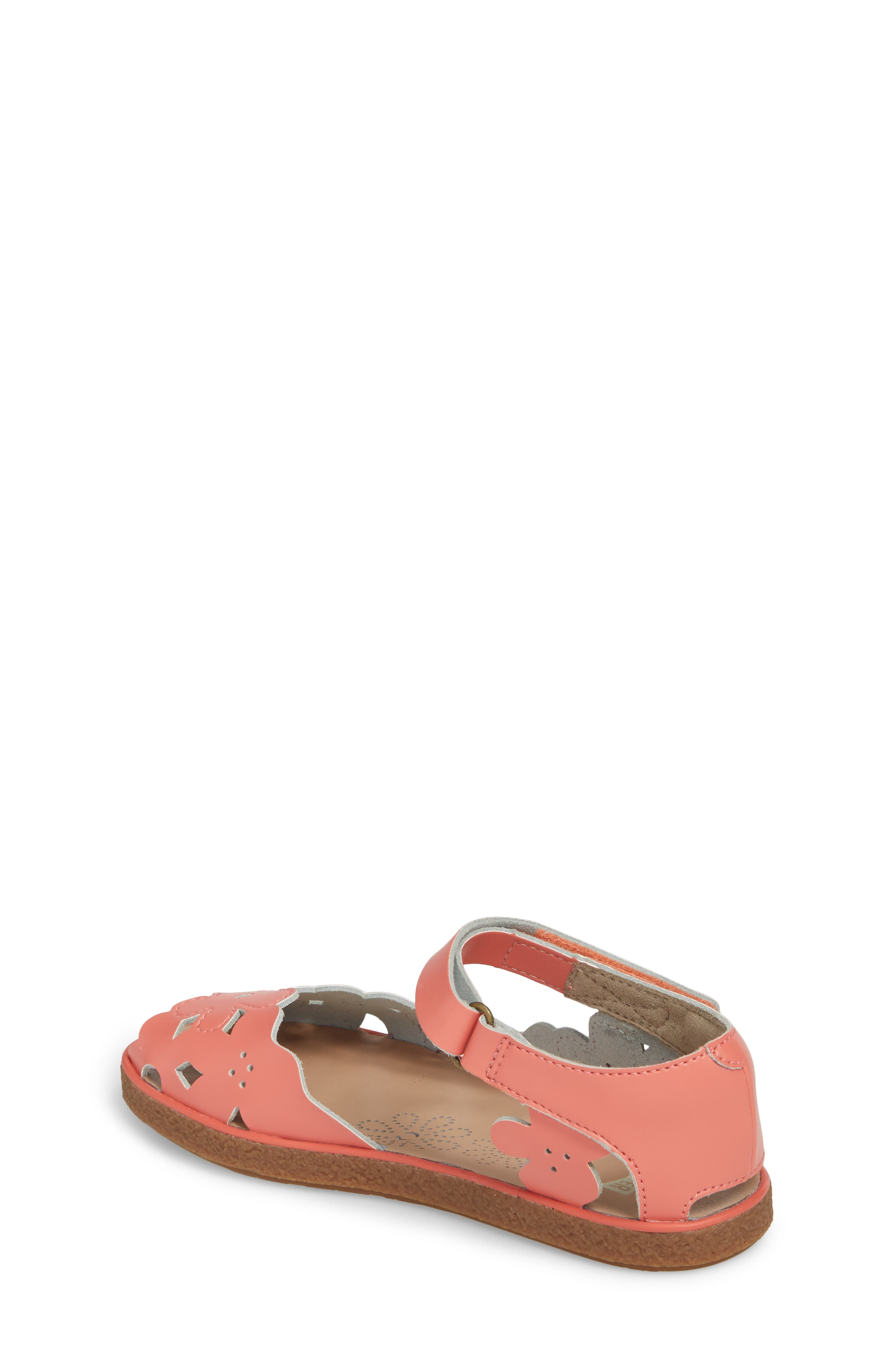 Twins Perforated Sandal,                             Alternate thumbnail 2, color,                             Pink