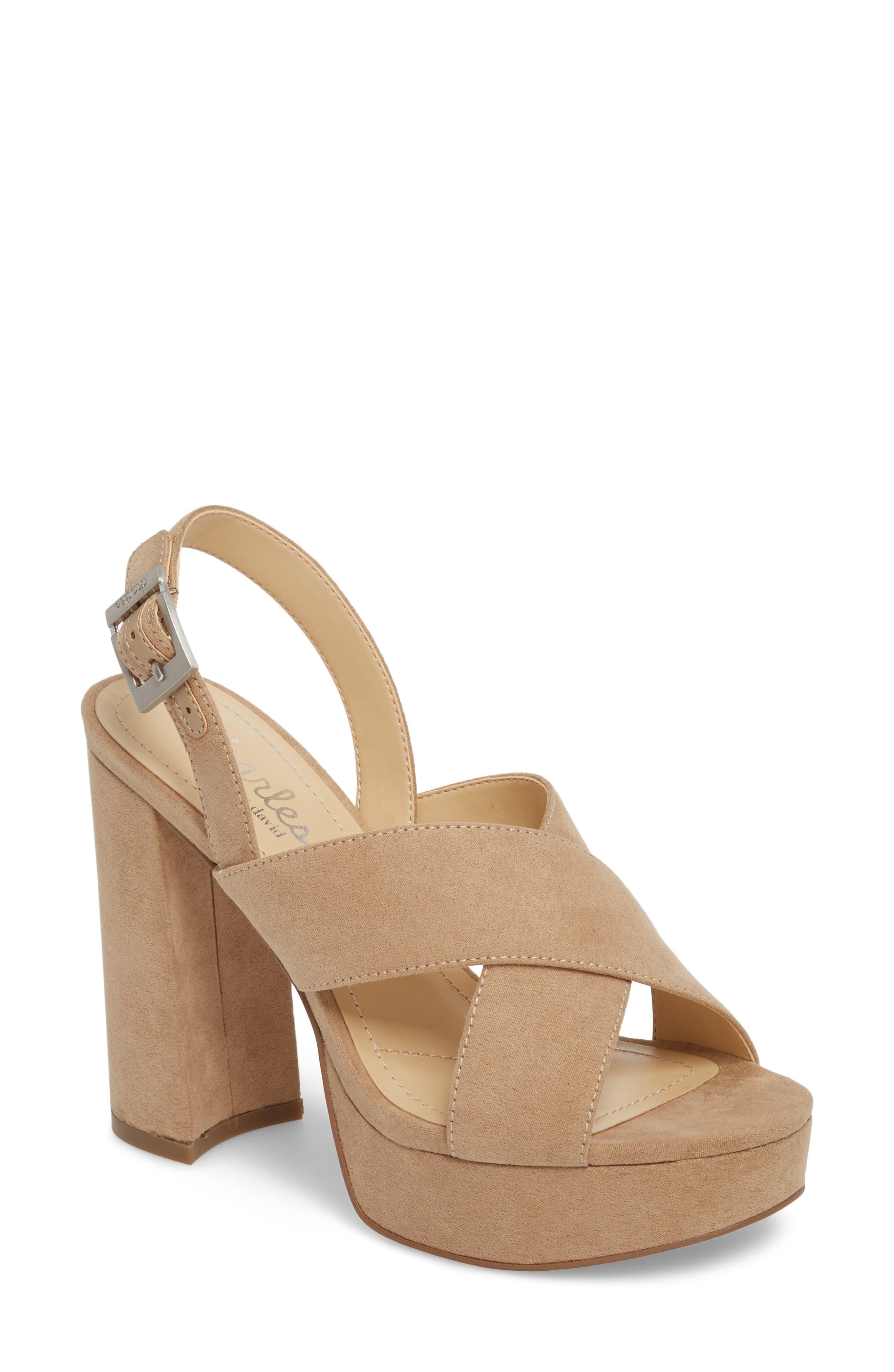 Charles by Charles David Jagger Platform Sandal (Women)