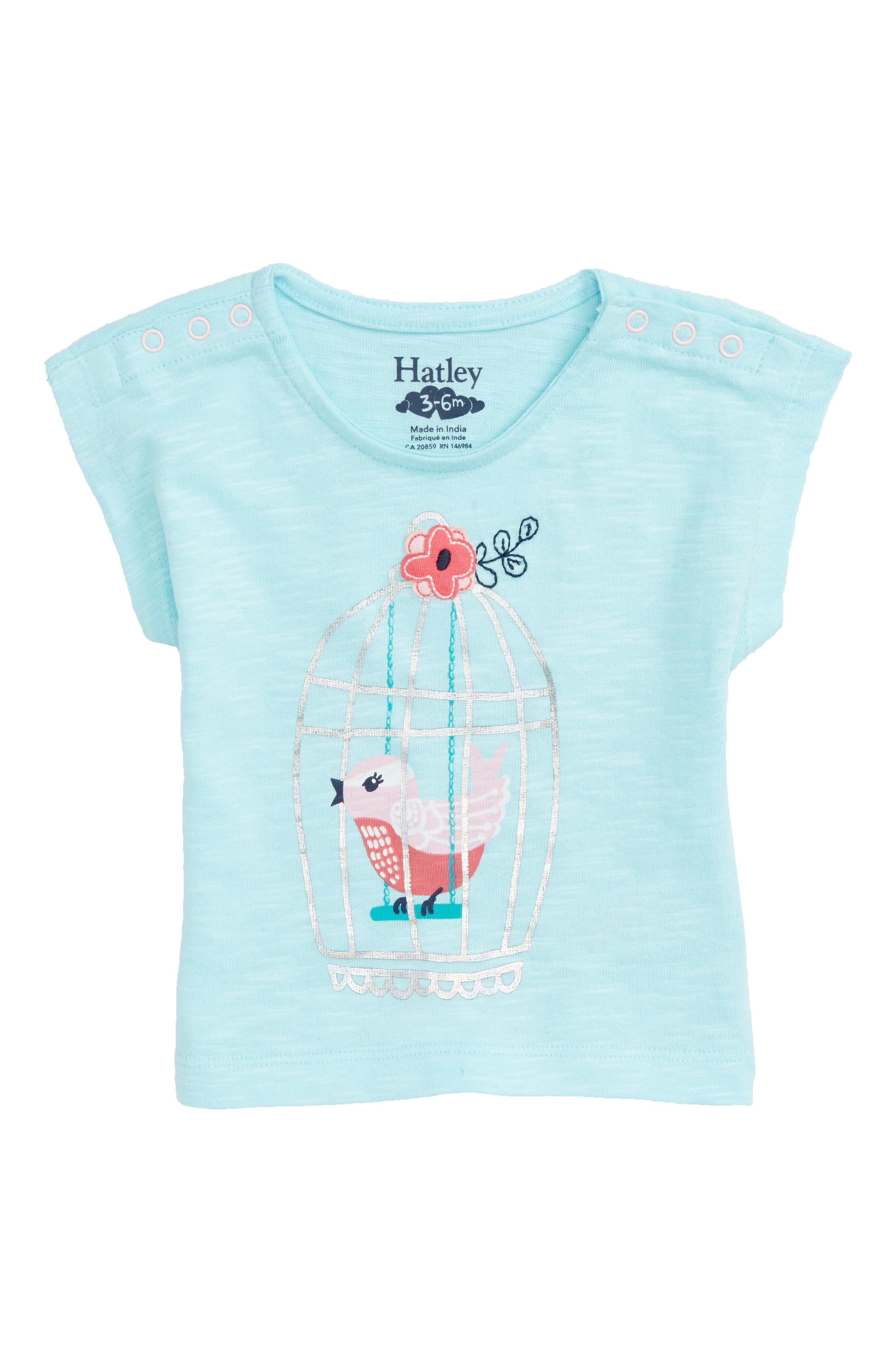 Hatley Songbird Tee (Baby Girls)
