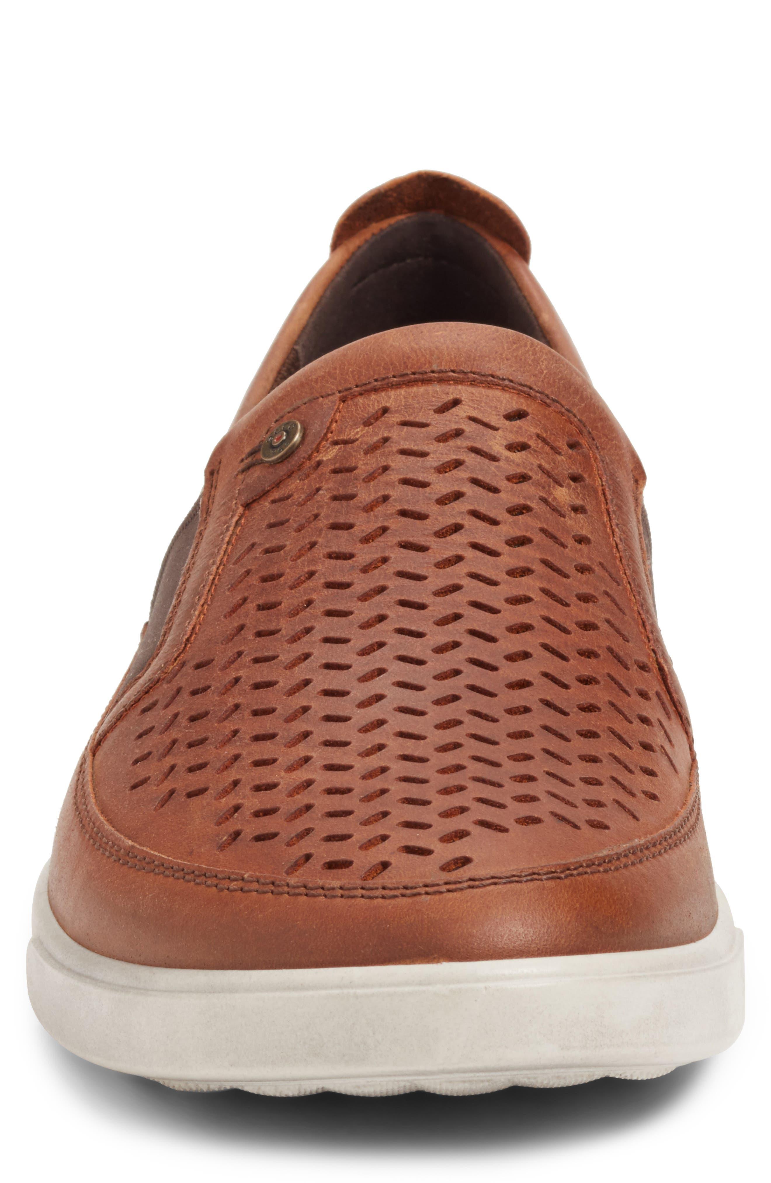 Alternate Image 4  - ECCO 'Collin' Perforated Slip On Sneaker (Men)