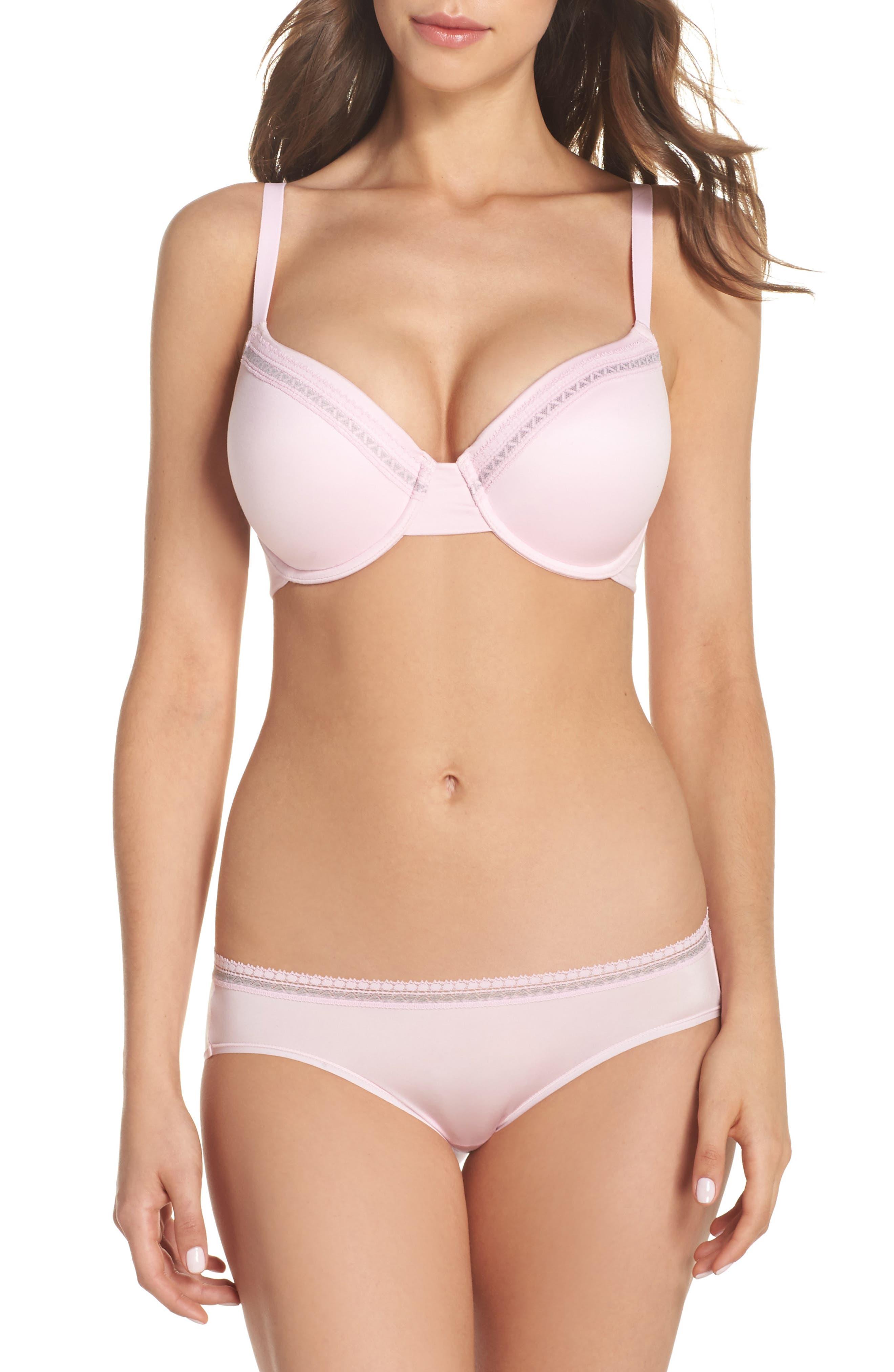 Bikini,                             Alternate thumbnail 5, color,                             Pink Lady