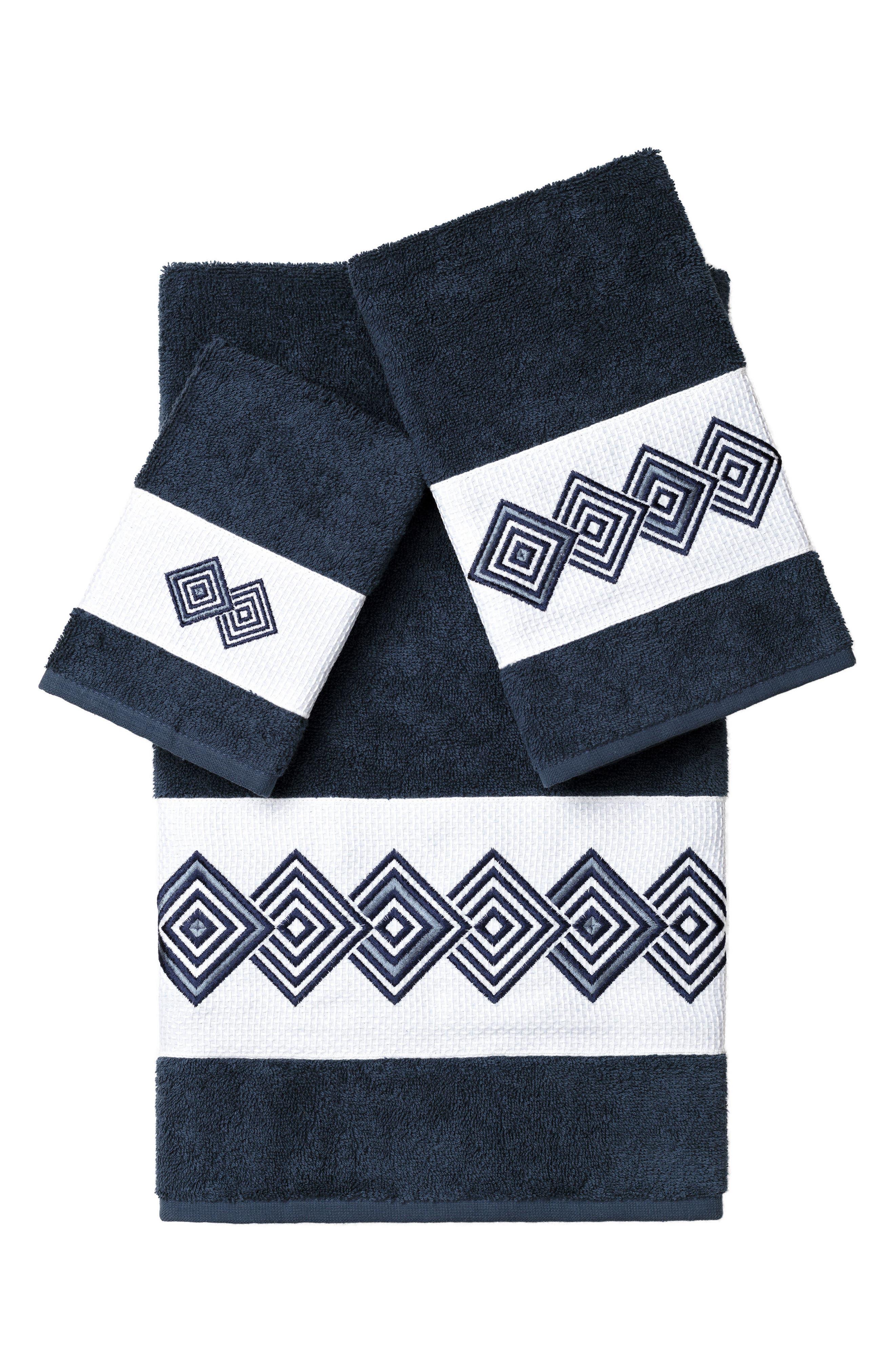 Linum Home Textiles Noah 3-Piece Turkish Cotton Towel Set