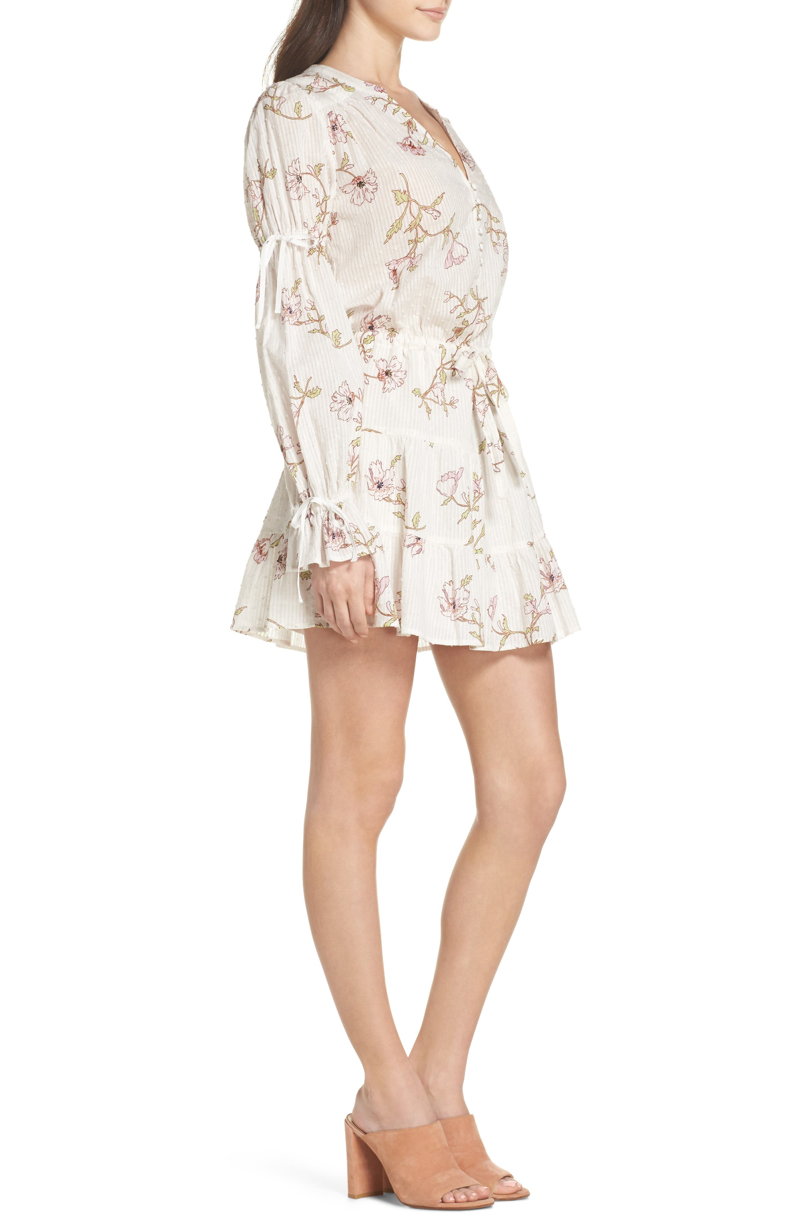 Alternate Image 3  - PAIGE Yardley Floral Minidress