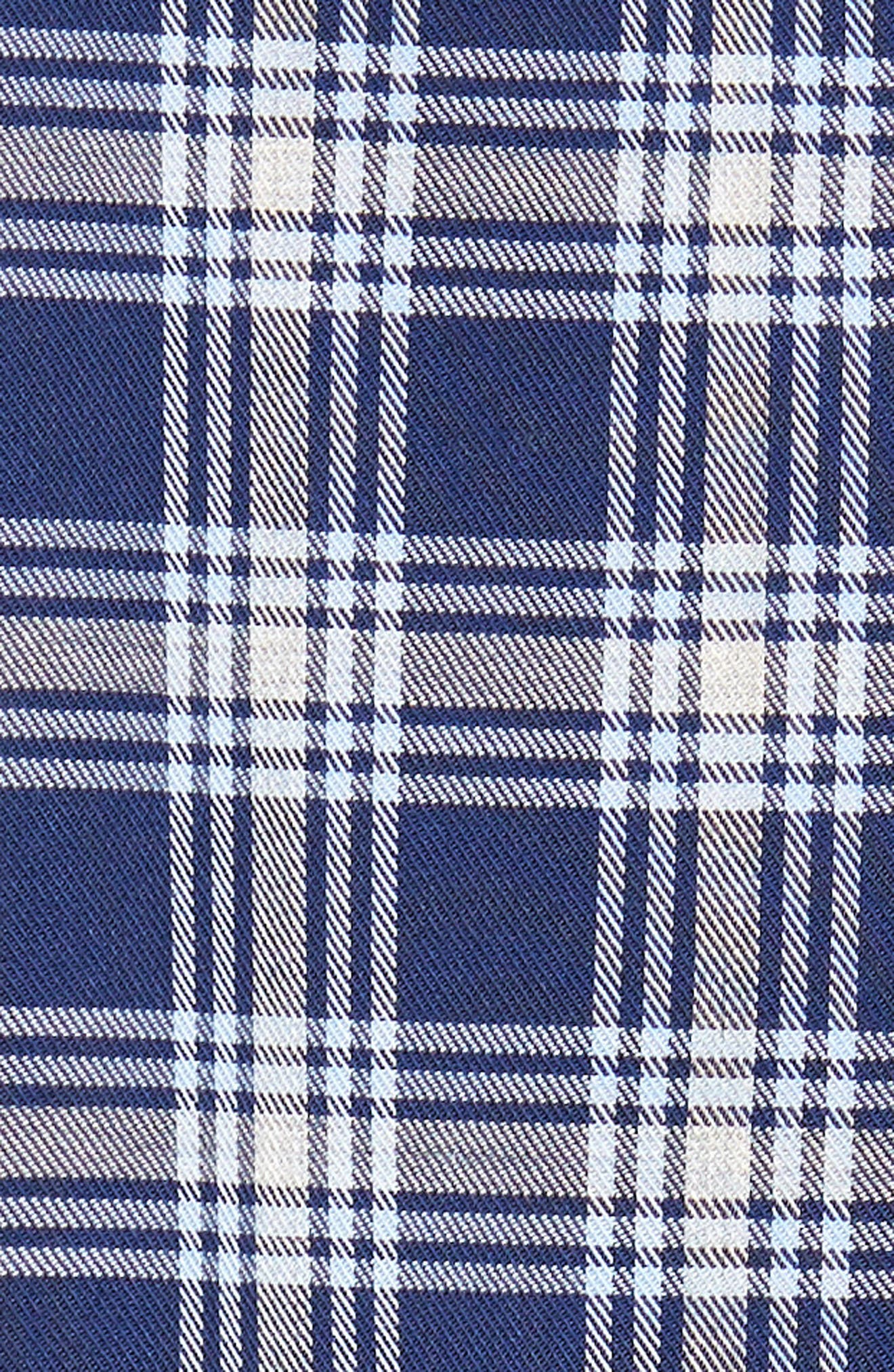 Alternate Image 5  - Nordstrom Men's Shop Non-Iron Spade Plaid Sport Shirt