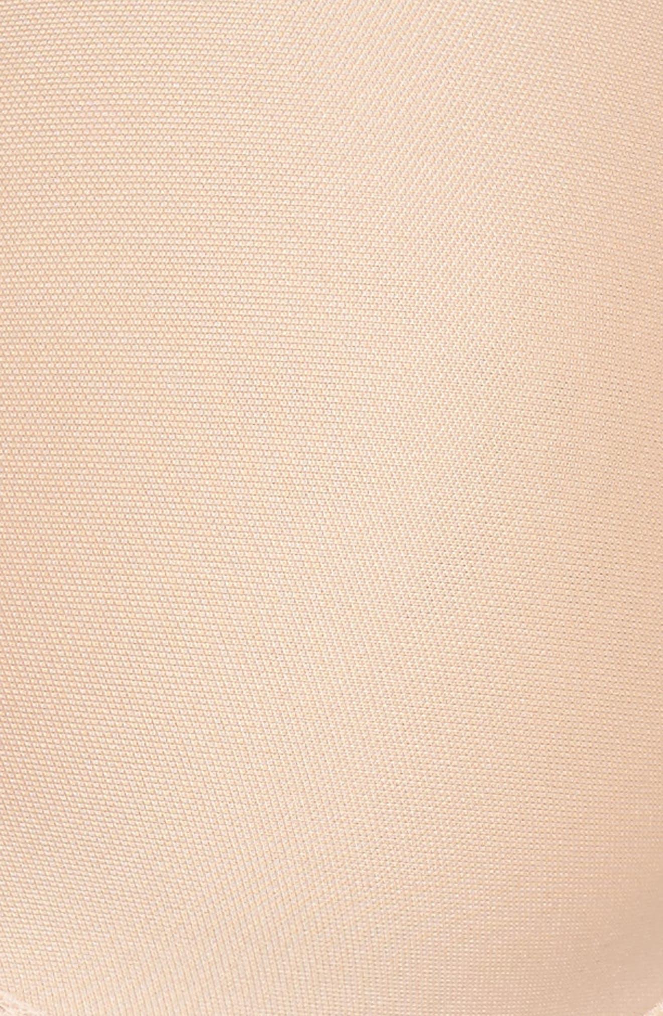 Modern Invisible Silicone-Free Strapless Underwire Bra,                             Alternate thumbnail 8, color,                             Nude Blush