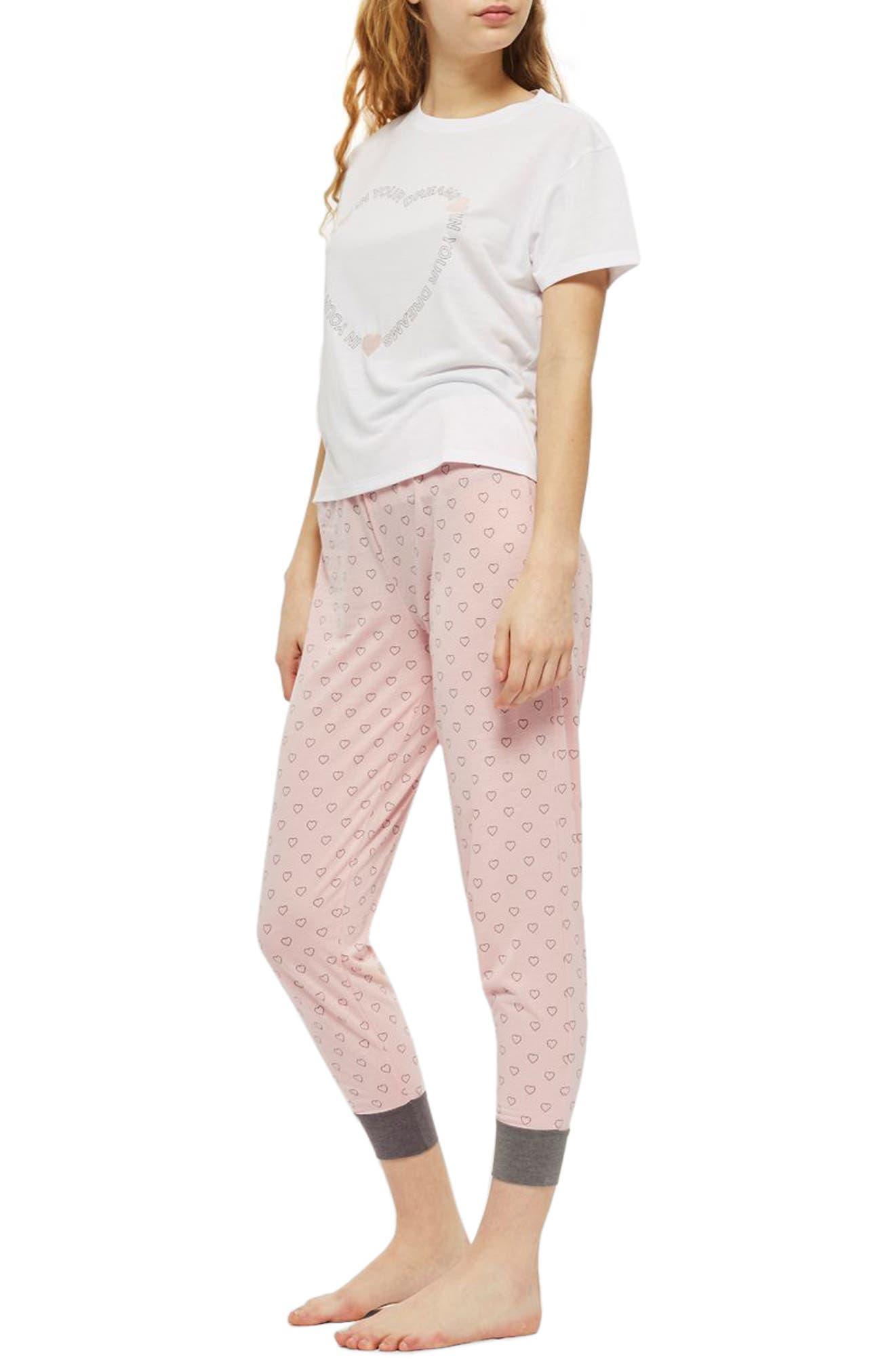 In Your Dreams Pajamas,                         Main,                         color, Pink Multi