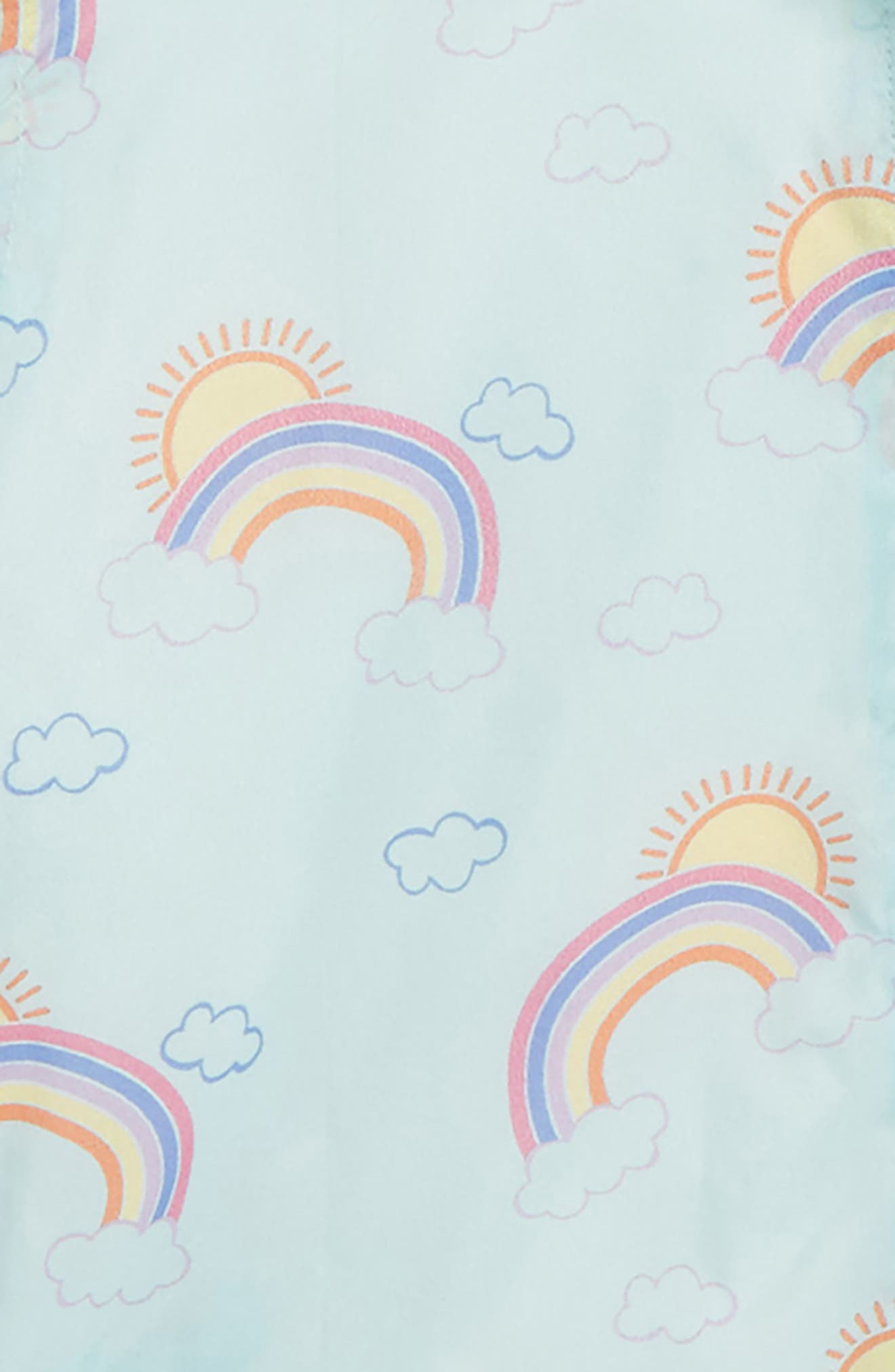 Alternate Image 2  - Tucker + Tate Rainbow Print Hooded Jacket (Toddler Girls, Little Girls & Big Girls)