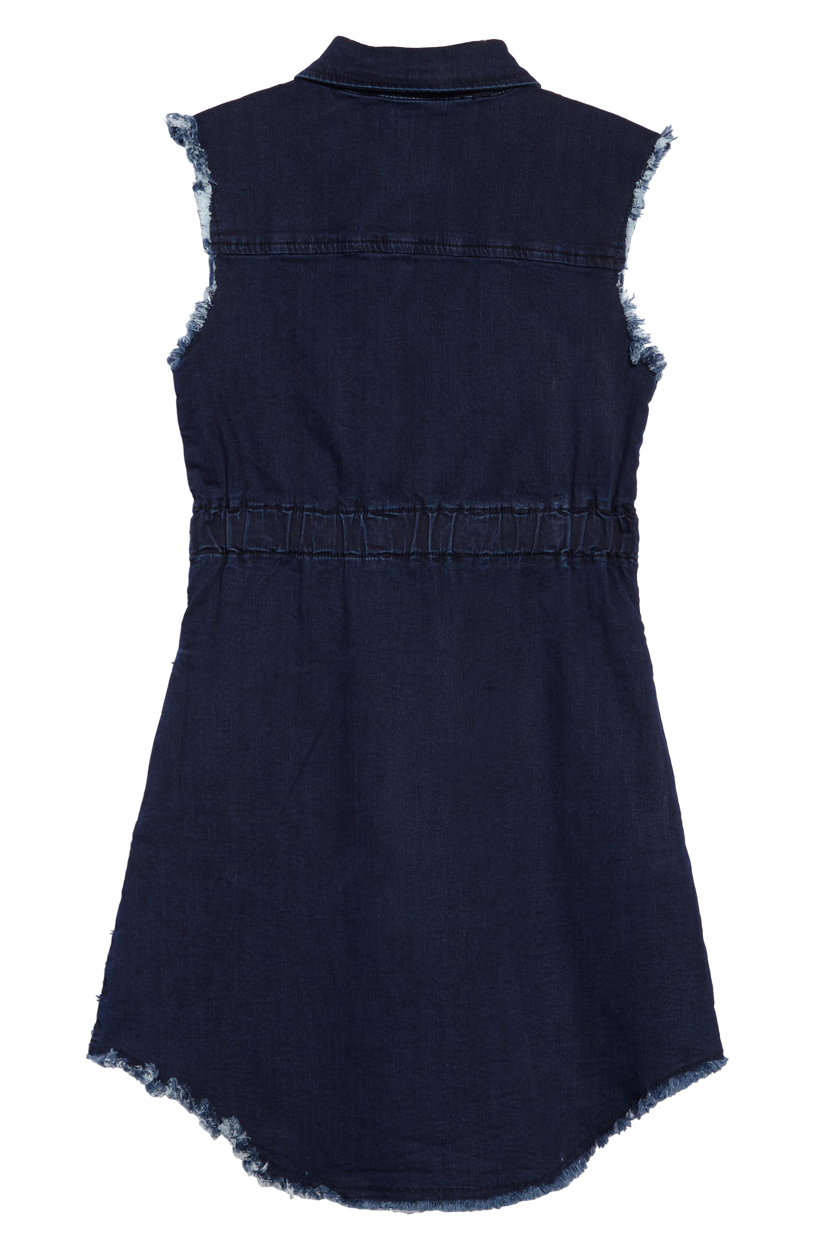 Alternate Image 2  - ag adriano goldschmied kids Rosanna Chambray Dress (Big Girls)