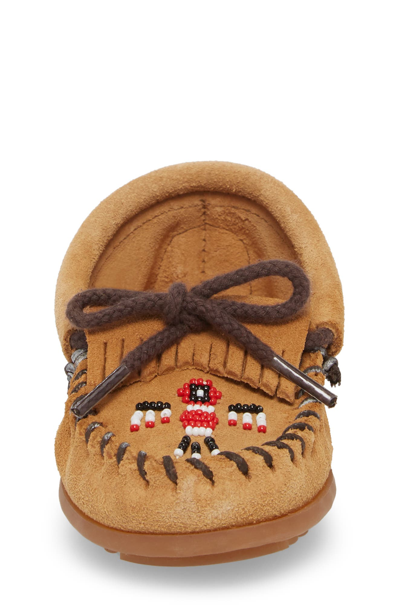 'Thunderbird' Moccasin,                             Alternate thumbnail 5, color,                             Taupe