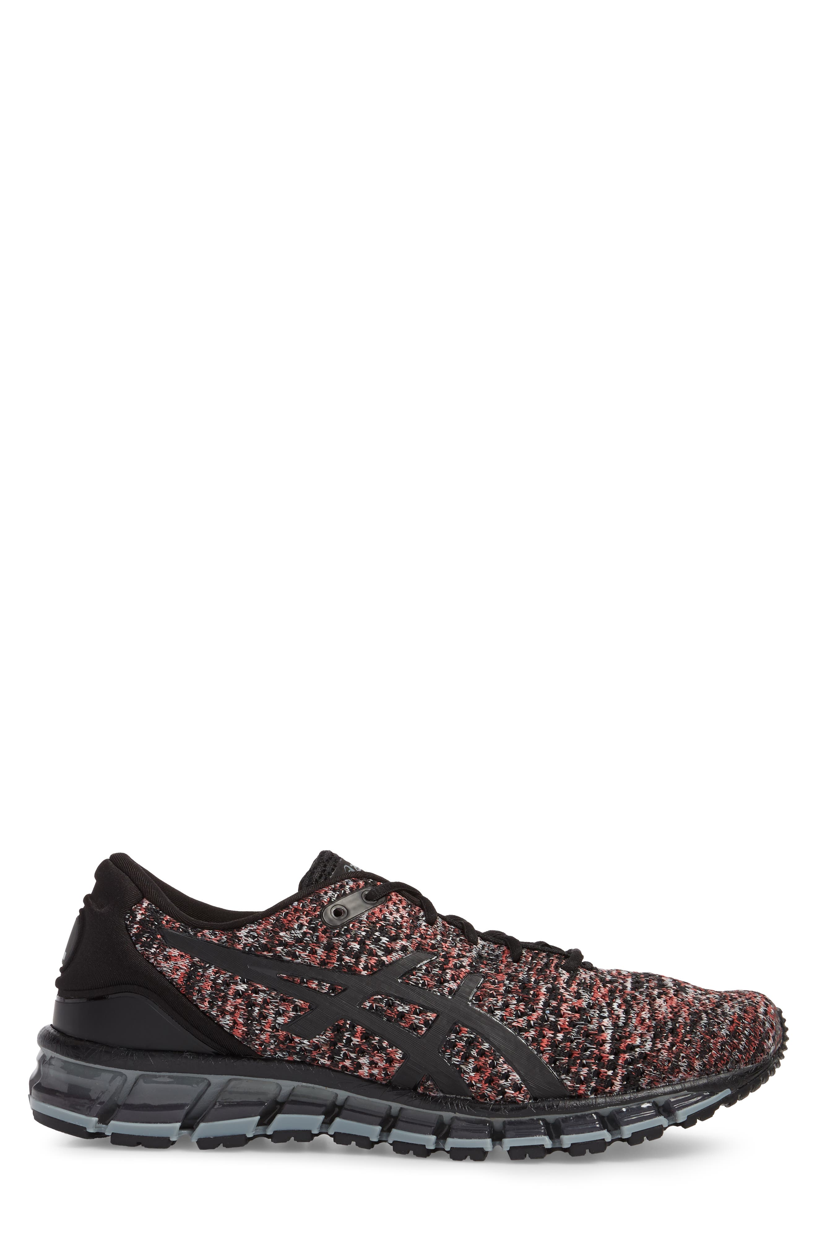 GEL-Quantum 360 Running Shoe,                             Alternate thumbnail 3, color,                             Black/ Class Red