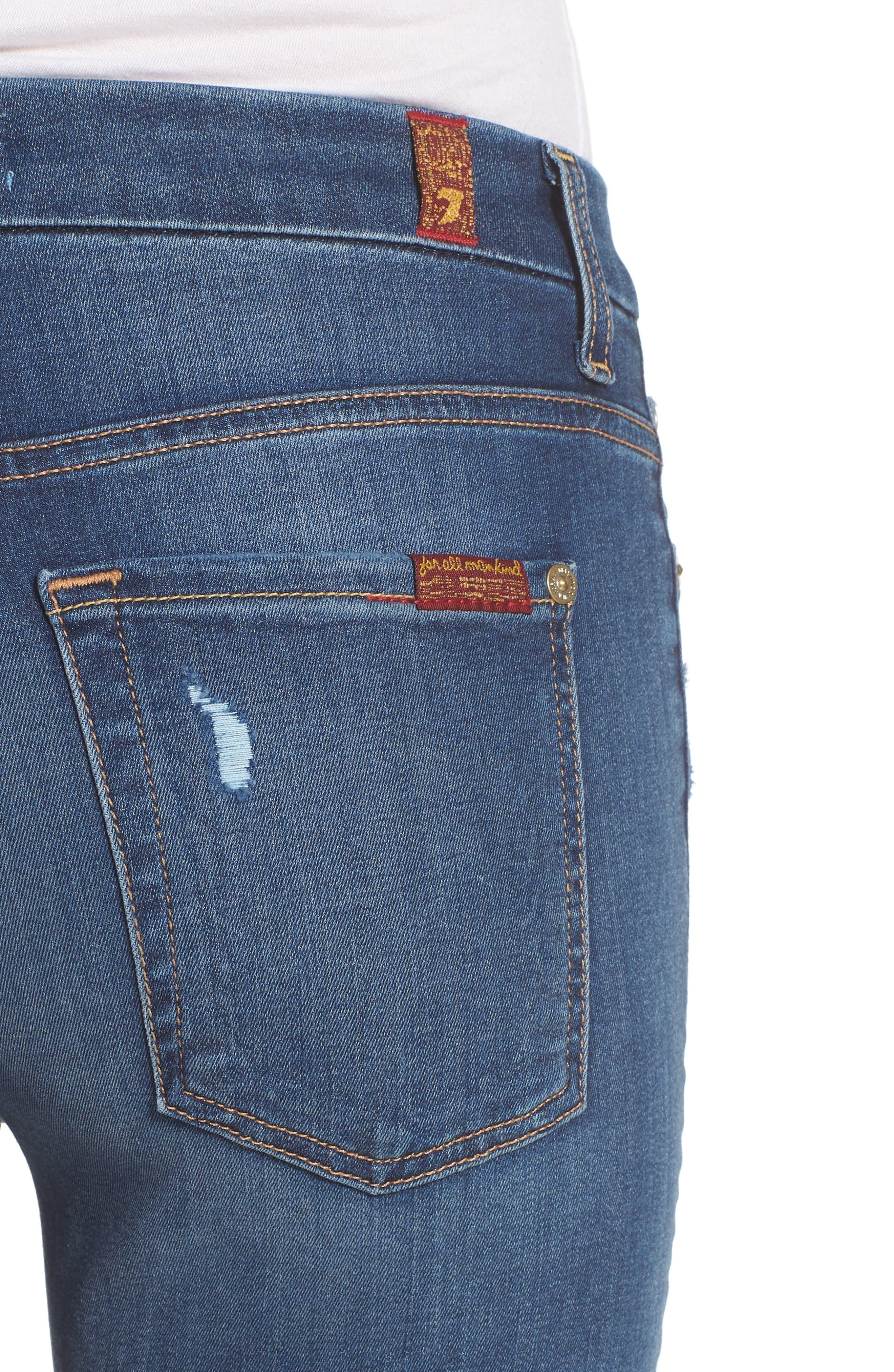 'b(air) - The Ankle' Skinny Jeans,                             Alternate thumbnail 4, color,                             Bair Vintage Dusk 2