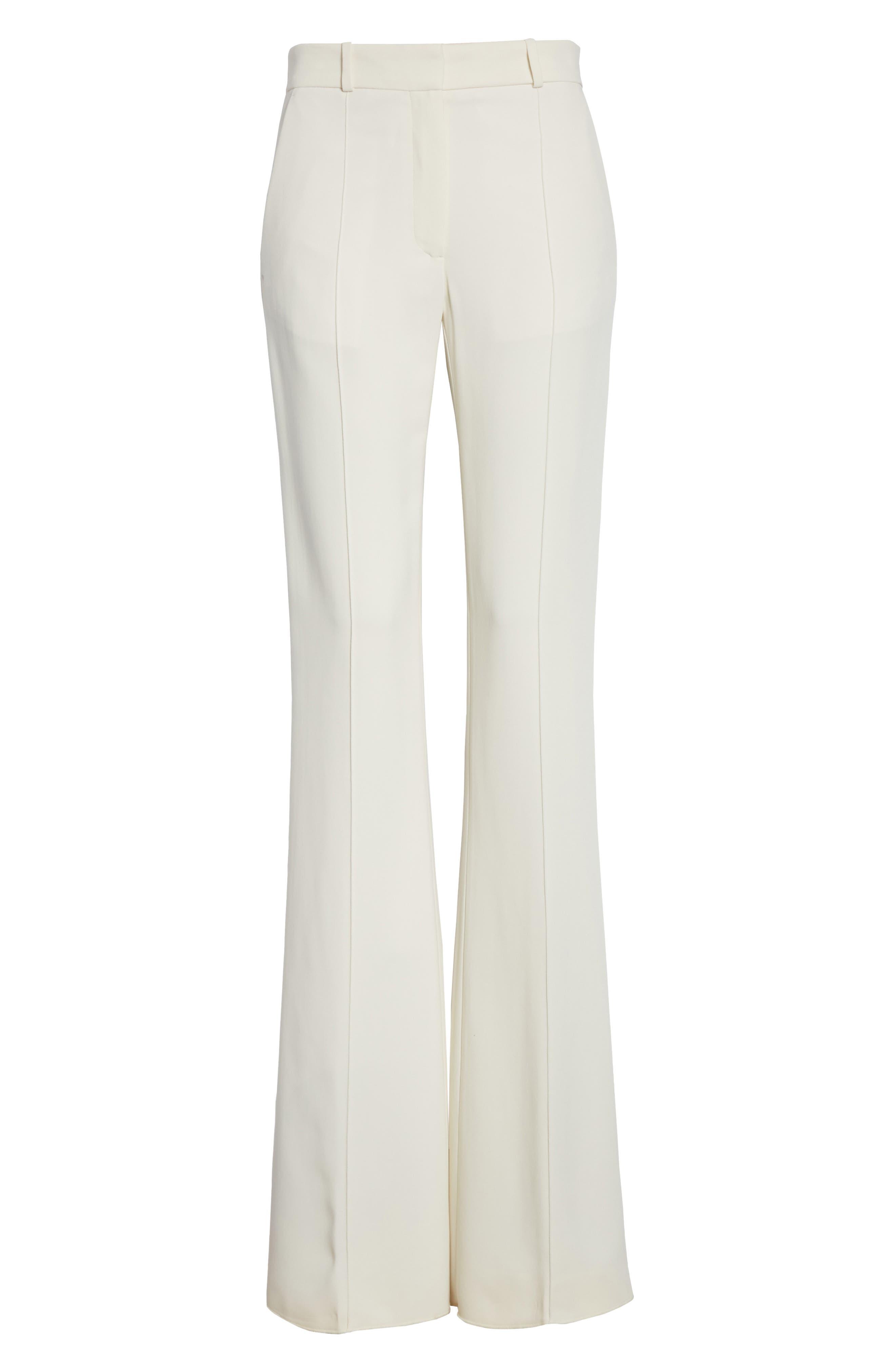 Flare Pants,                             Main thumbnail 1, color,                             Vanilla