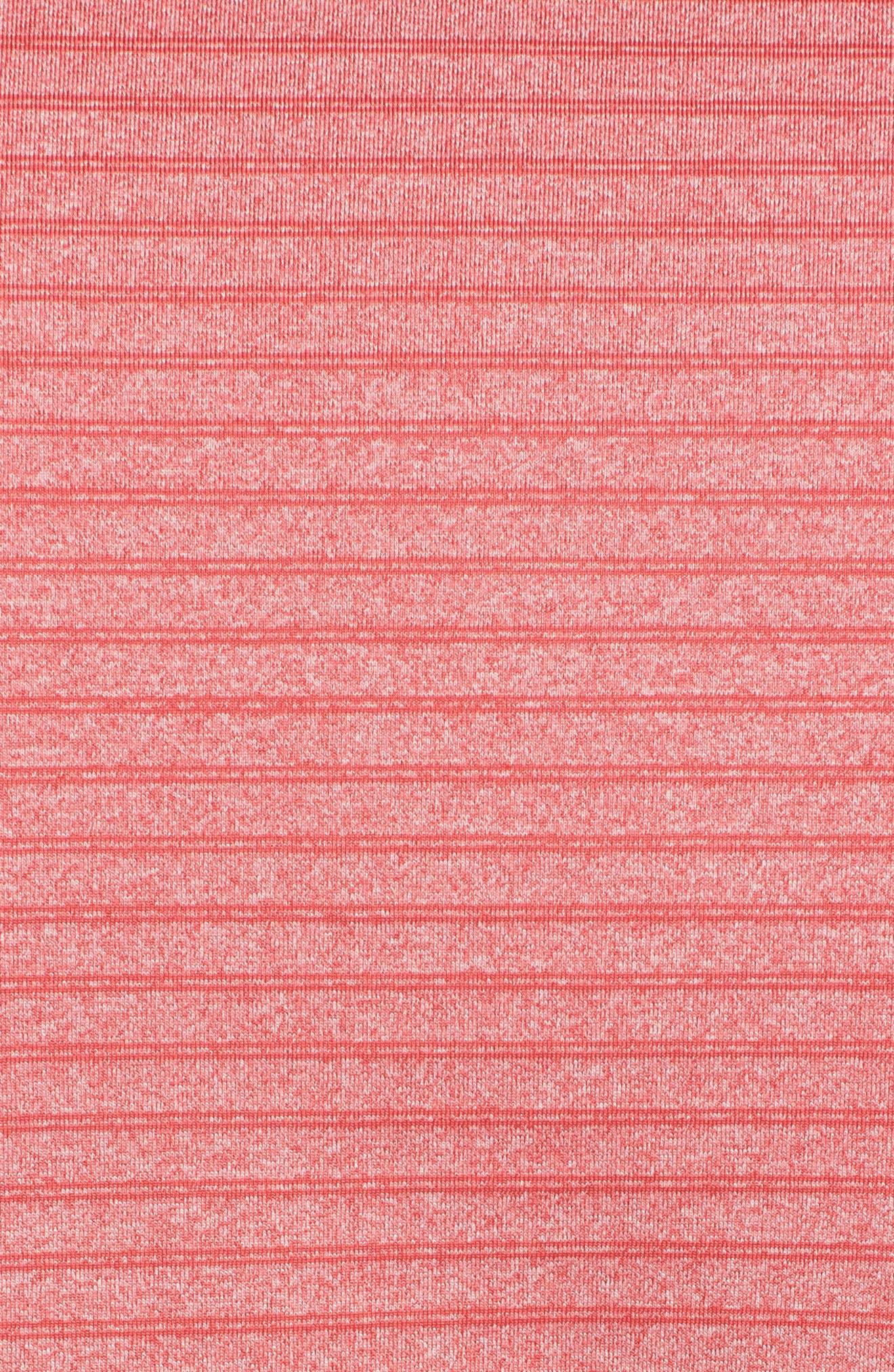 XH2O Window Fusion Stripe Polo,                             Alternate thumbnail 5, color,                             Mai Tai
