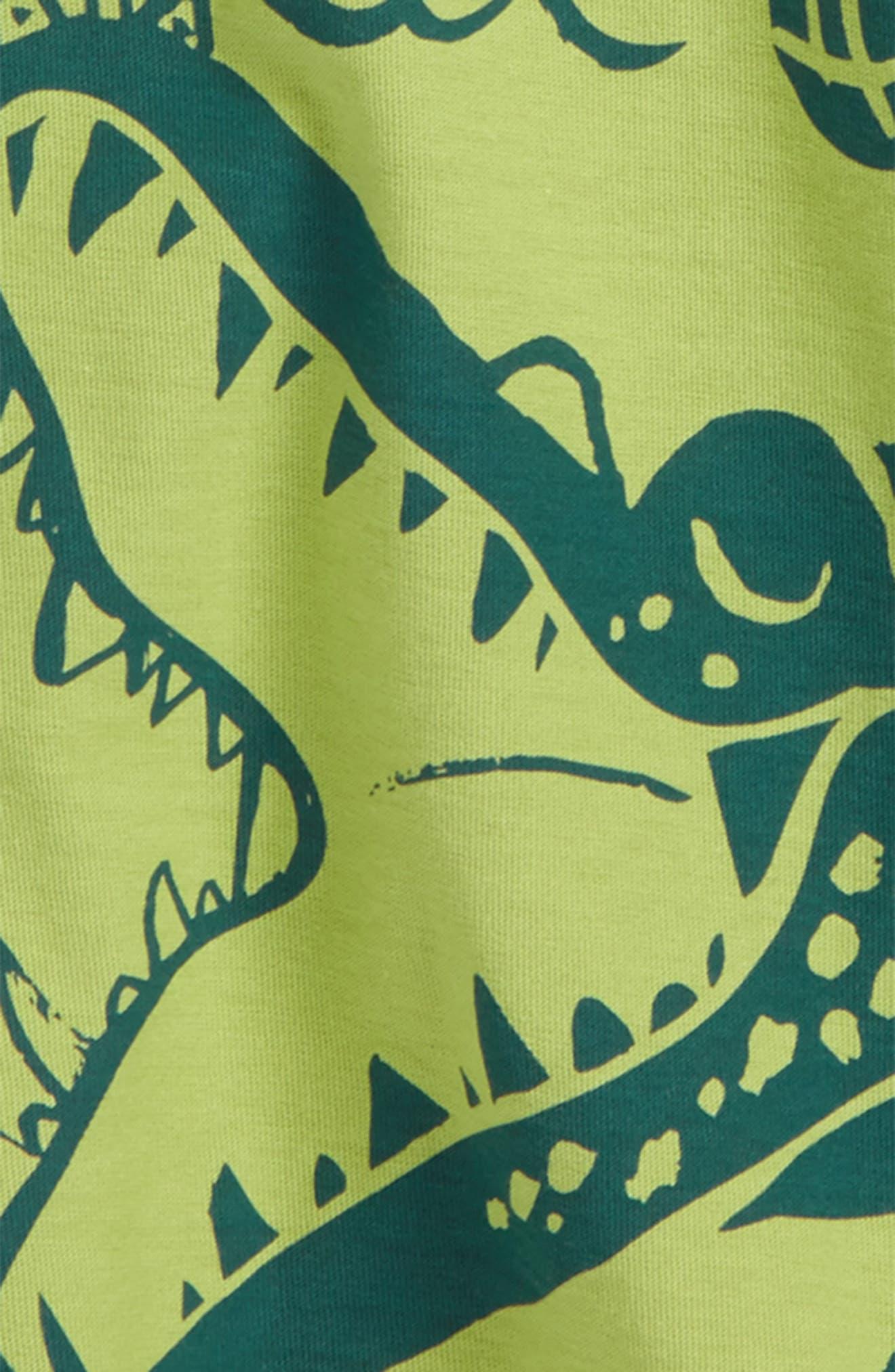 Alligator T-Shirt,                             Alternate thumbnail 2, color,                             Peridot