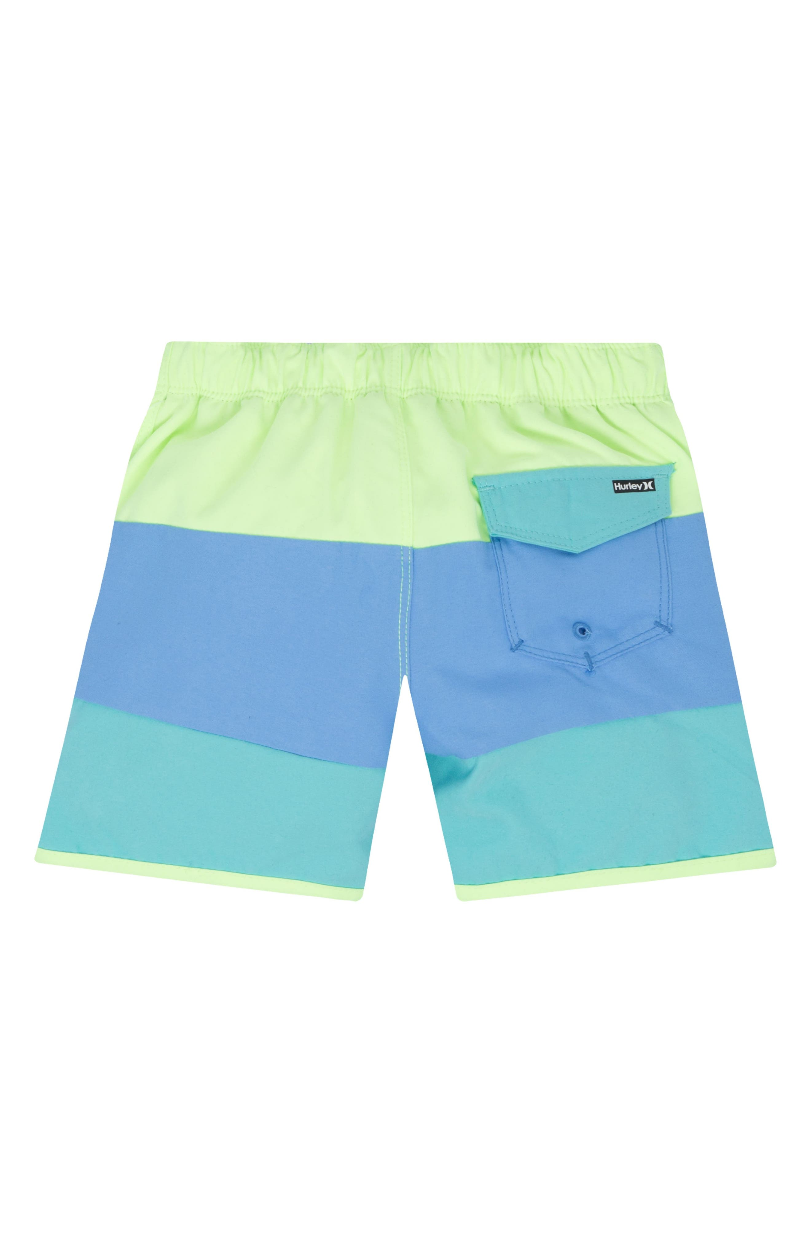 Triple Threat Board Shorts,                             Alternate thumbnail 2, color,                             Ghost Green