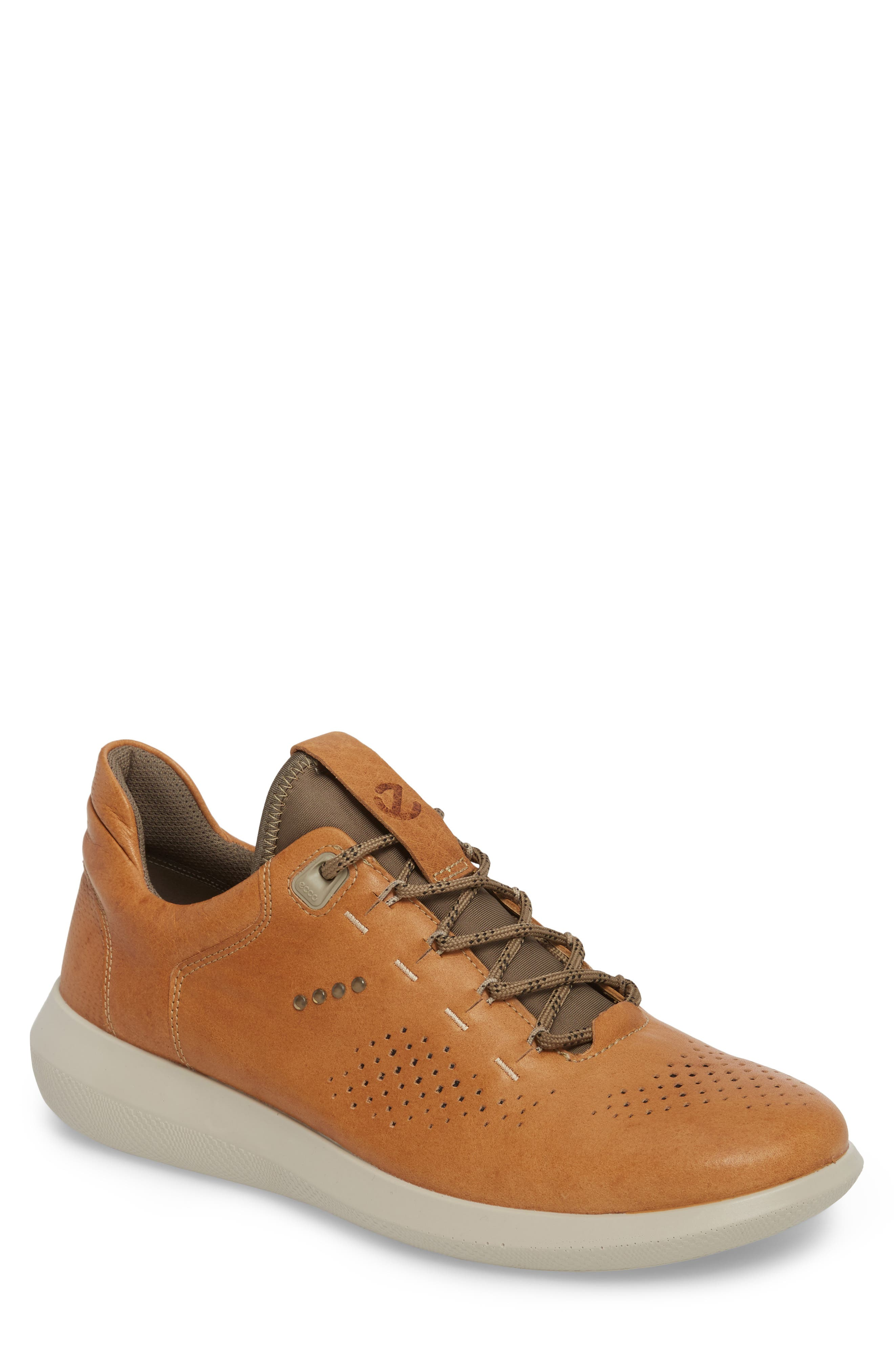 Scinapse Sneaker,                         Main,                         color, Brown Leather