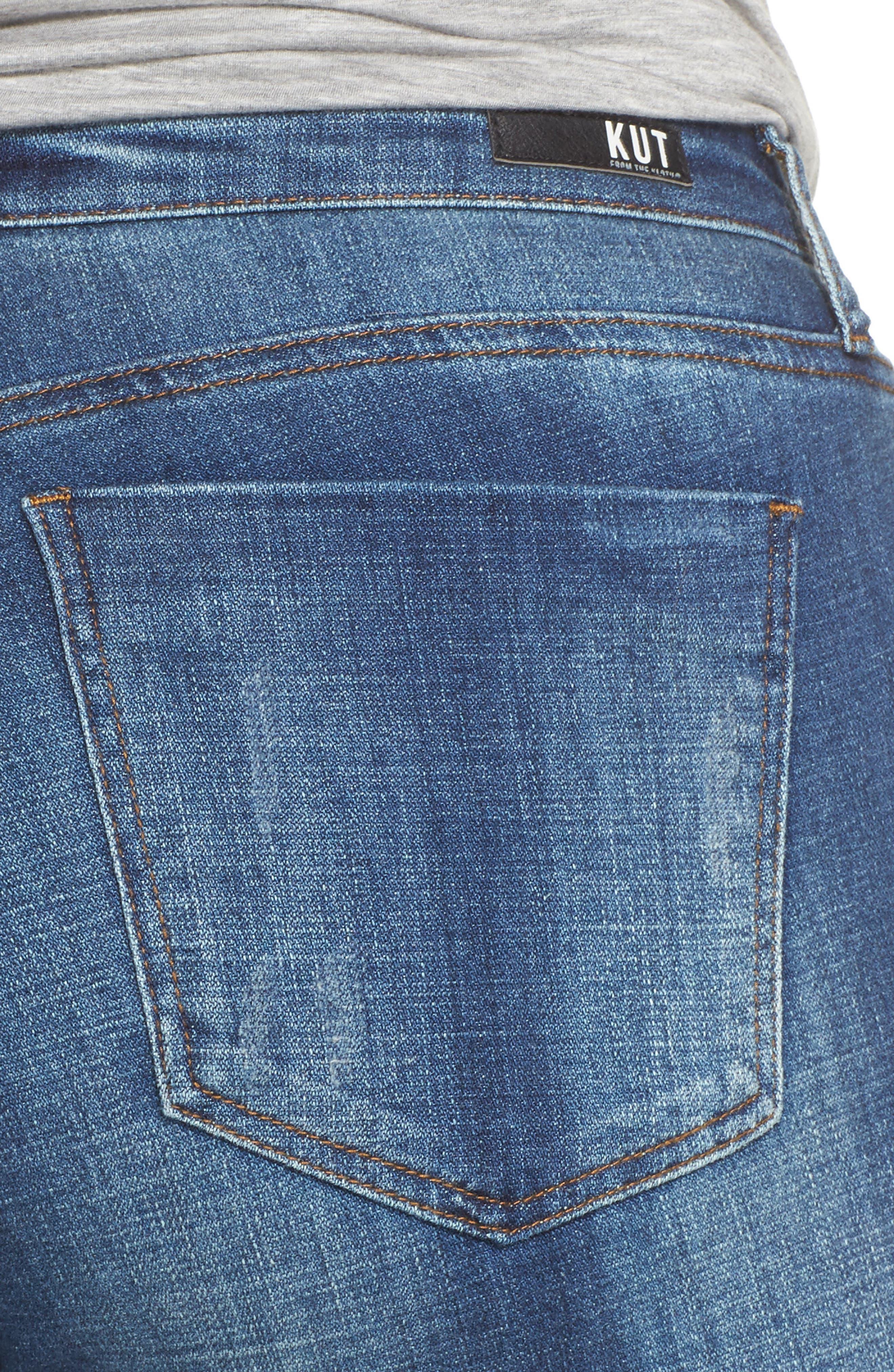 Lauren Crop Jeans,                             Alternate thumbnail 4, color,                             Entrusted