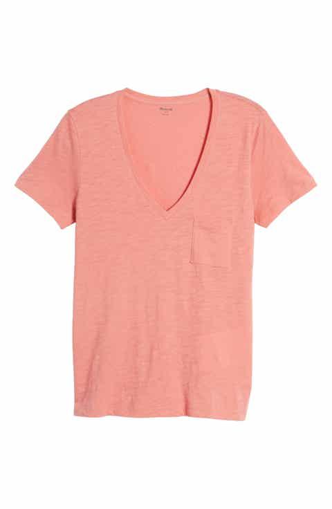 Women 39 S Pink Tops Tees Nordstrom