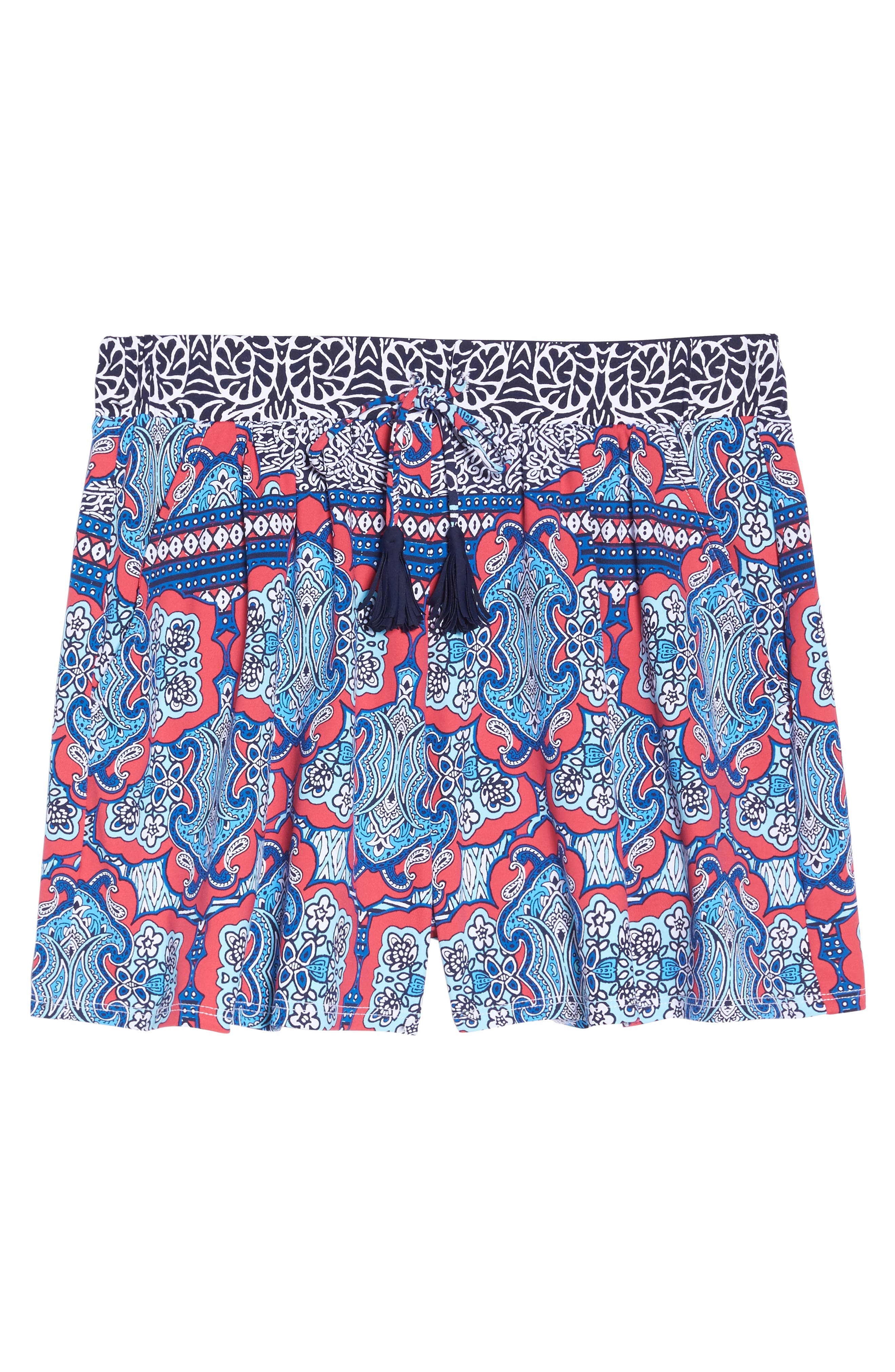 Alternate Image 9  - Tommy Bahama Riviera Tiles Cover-Up Shorts
