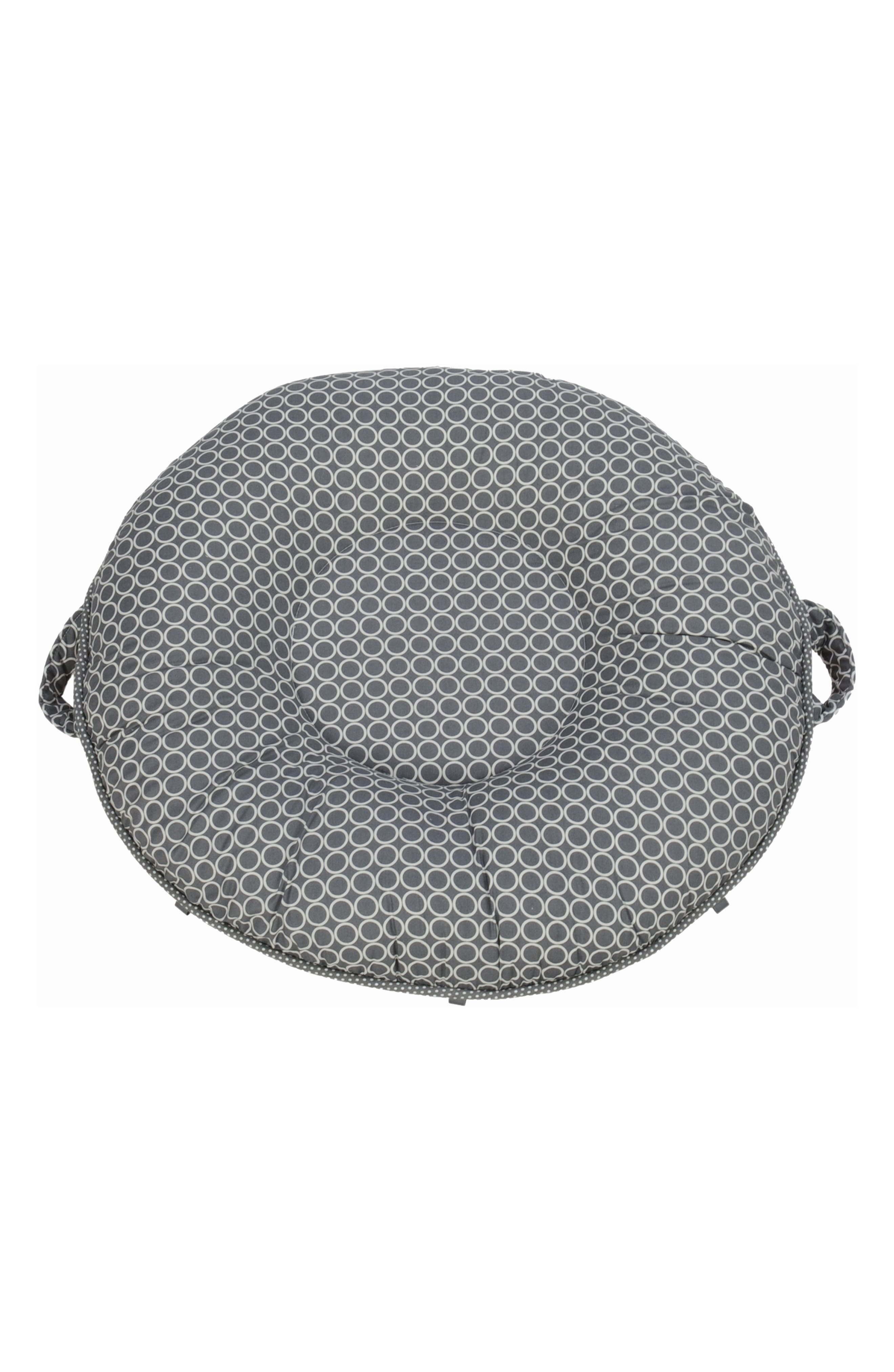 Majestic Luxe Portable Floor Pillow,                             Main thumbnail 1, color,                             Gray