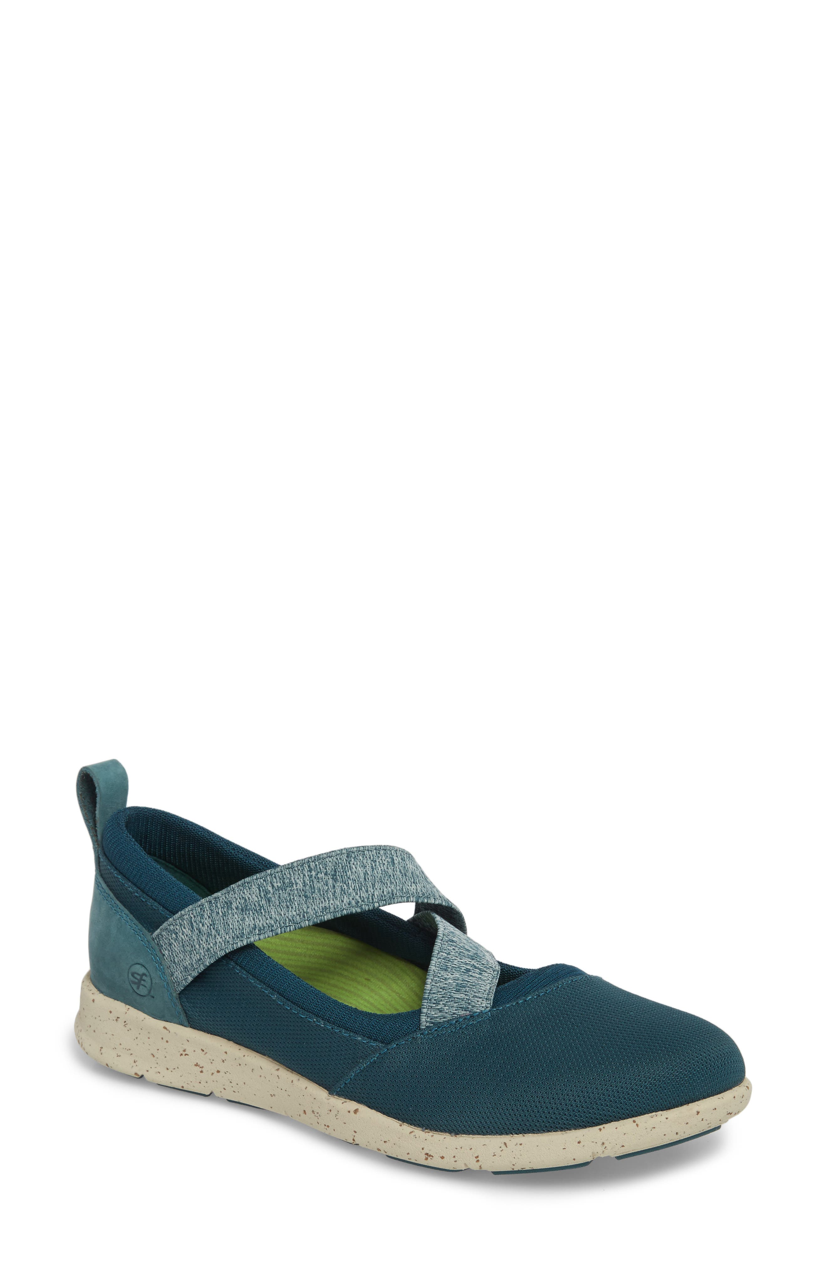 Palisade Sneaker,                         Main,                         color, Balsam Blue Leather