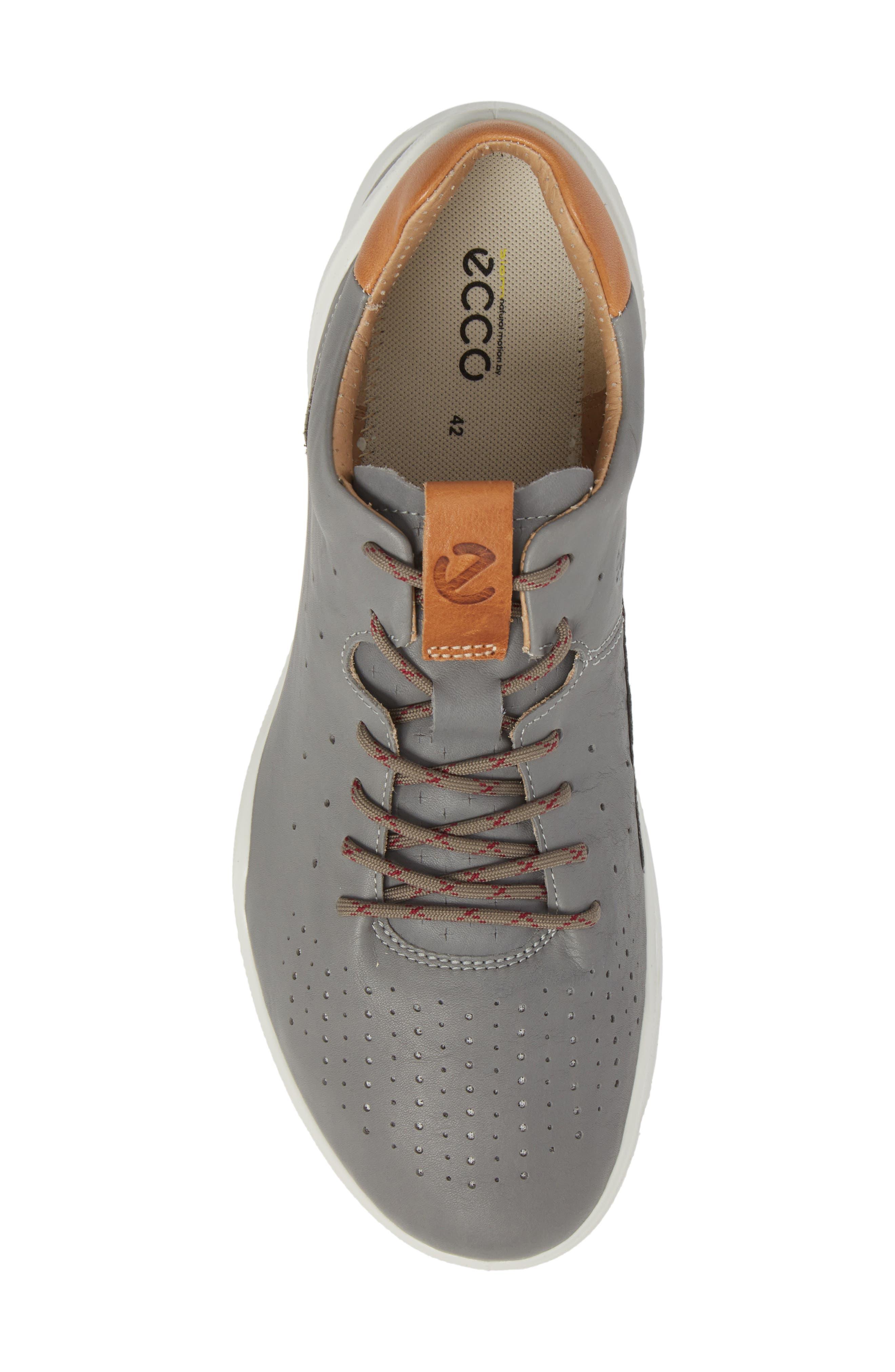 Biom Street Sneaker,                             Alternate thumbnail 5, color,                             Wild Dove Leather