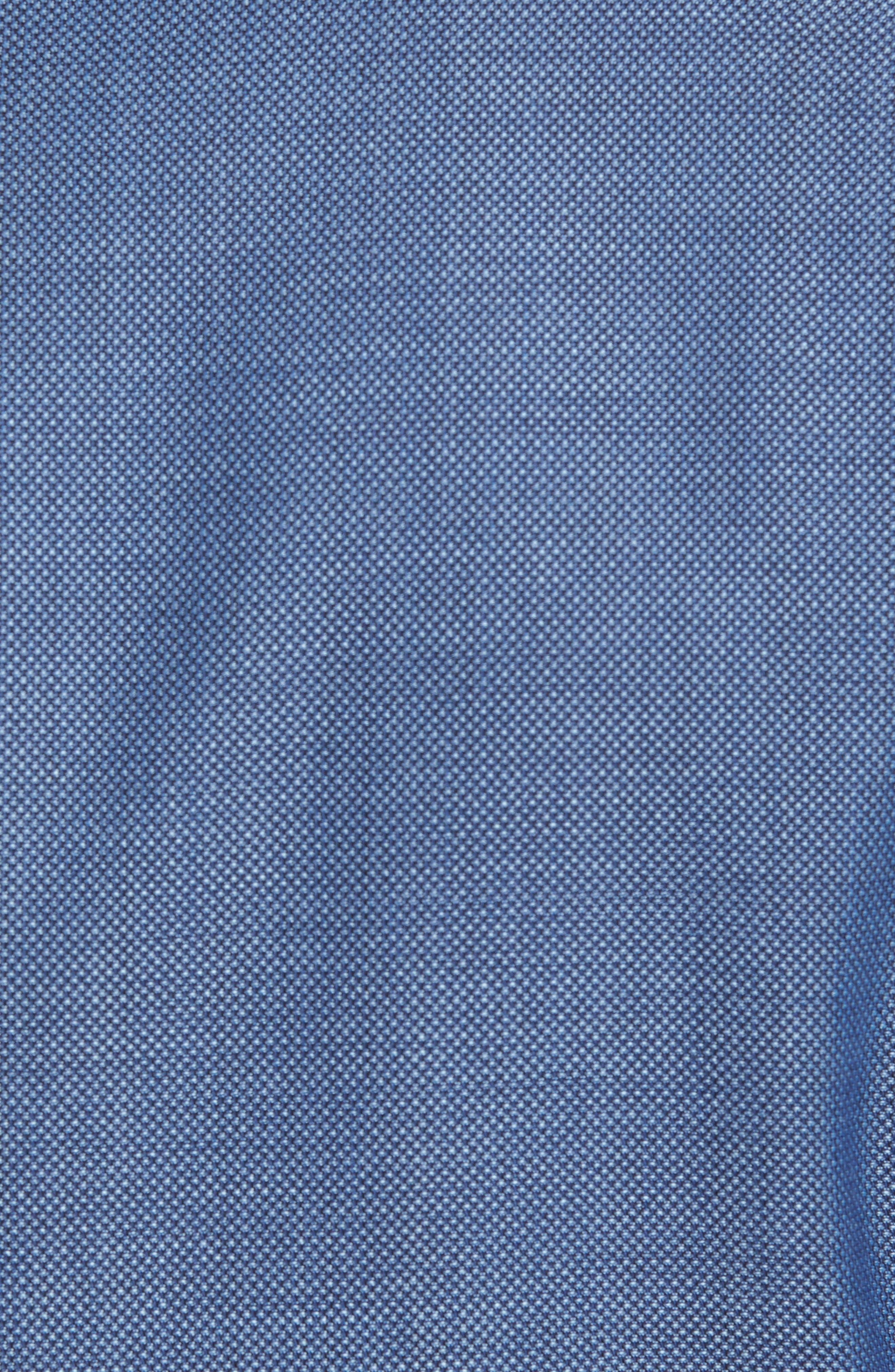 Jay Trim Fit Wool Blazer,                             Alternate thumbnail 5, color,                             Blue