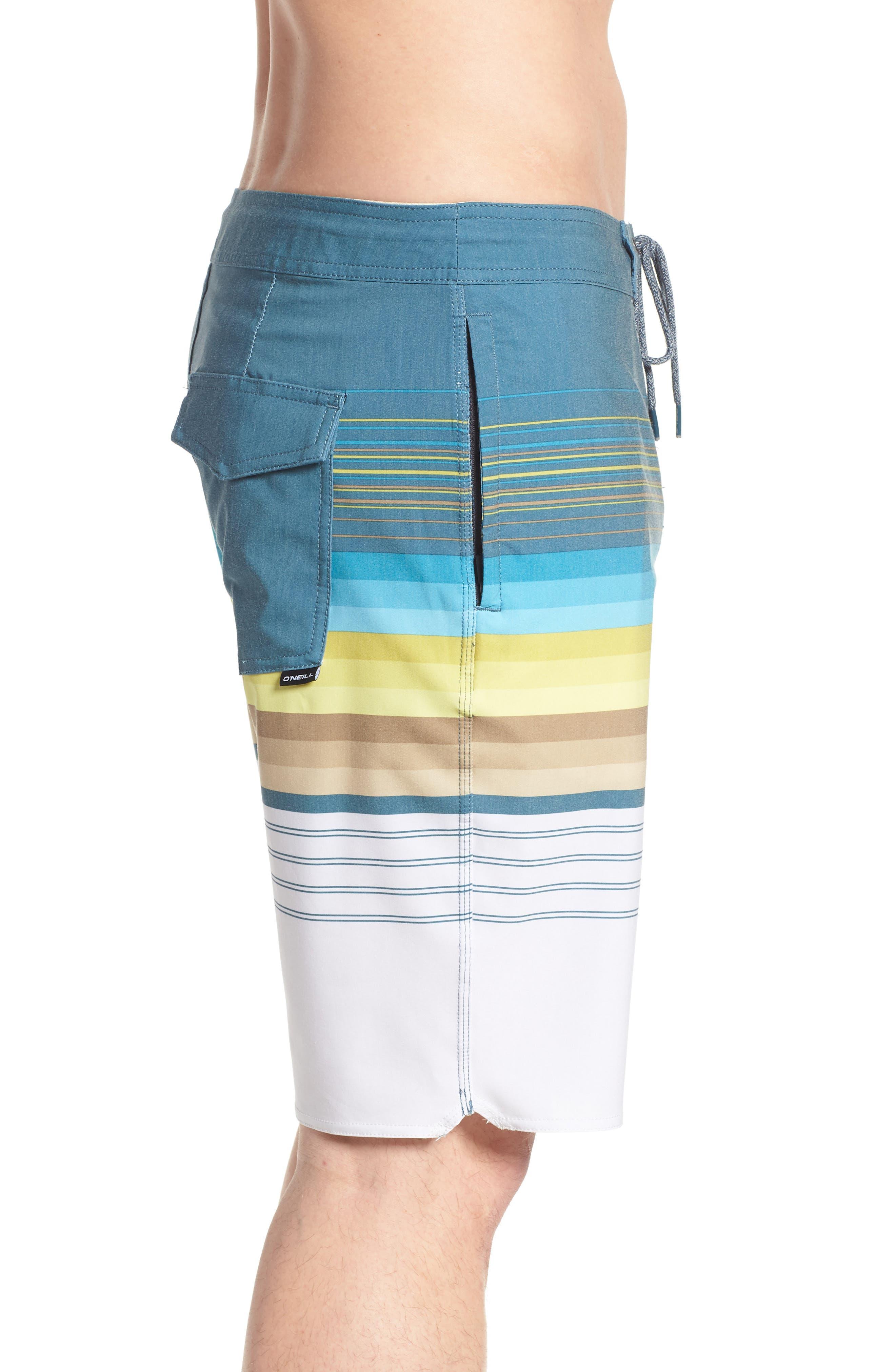 Sandbar Cruzer Board Shorts,                             Alternate thumbnail 4, color,                             Fog