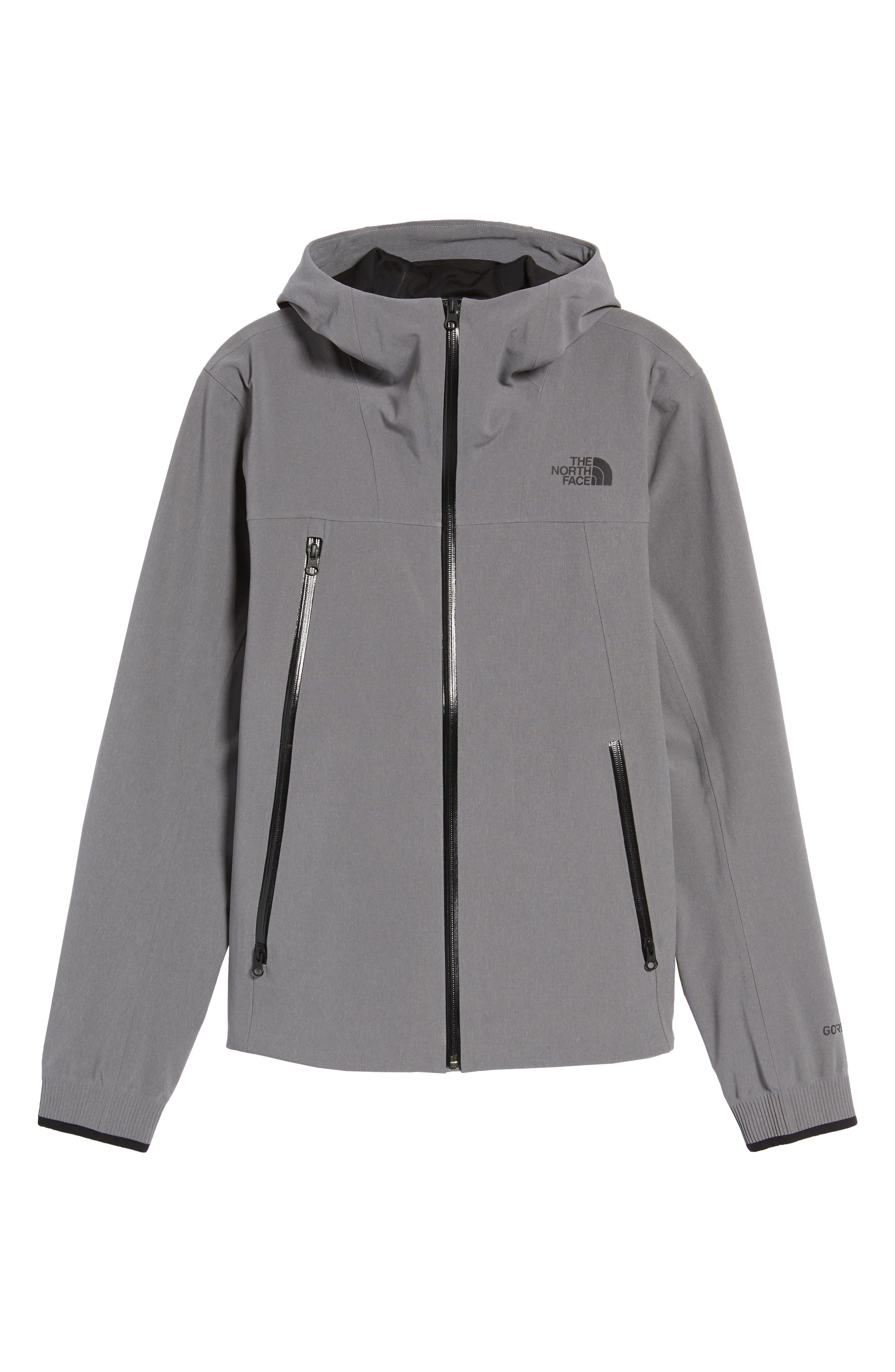Apex Flex Gore-Tex<sup>®</sup> Waterproof Jacket,                             Alternate thumbnail 6, color,                             Medium Grey Heather