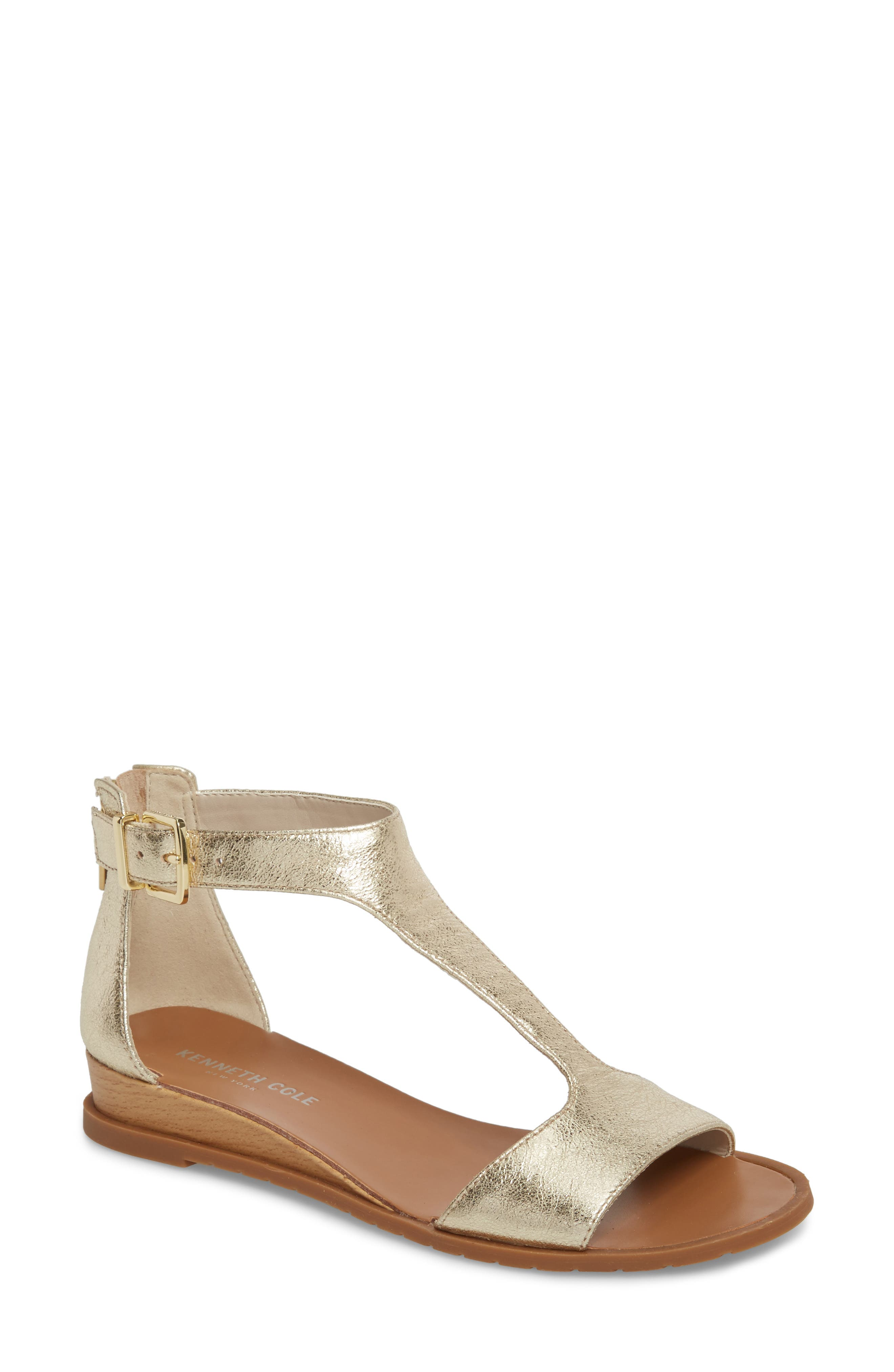 Kenneth Cole New York Judd T-Strap Sandal (Women)