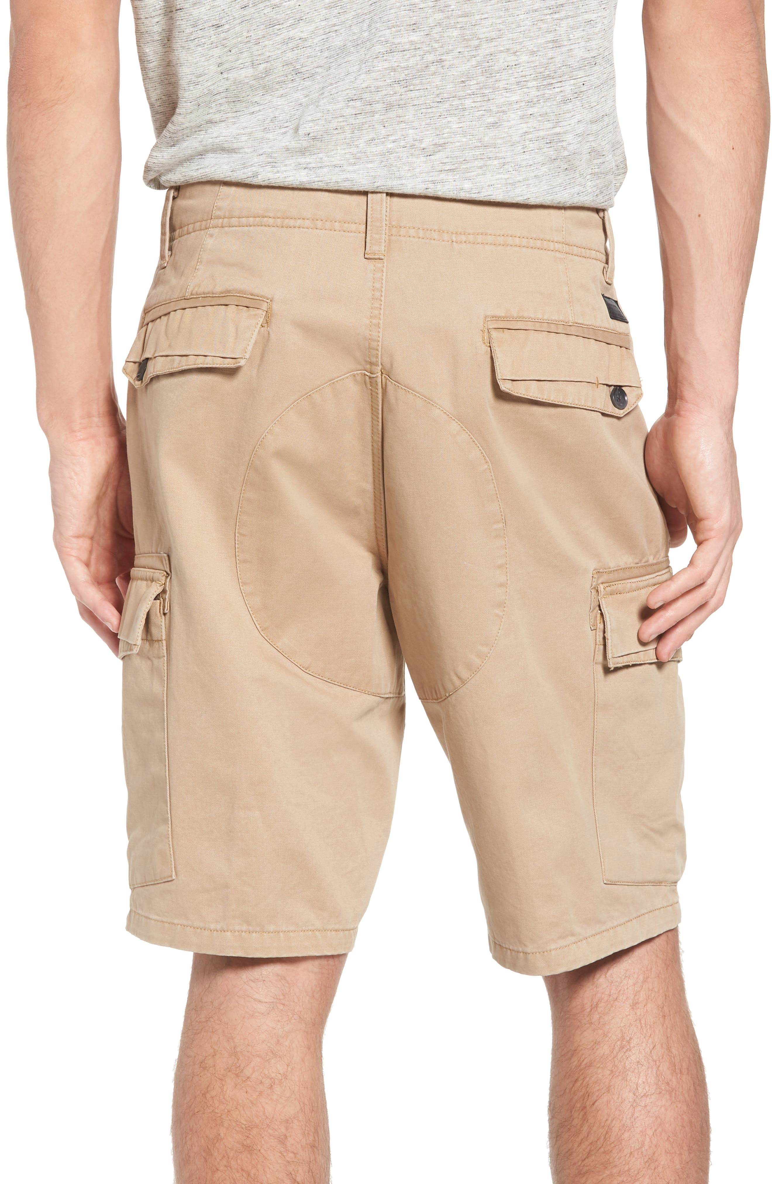 Campbell Cargo Shorts,                             Alternate thumbnail 2, color,                             Khaki