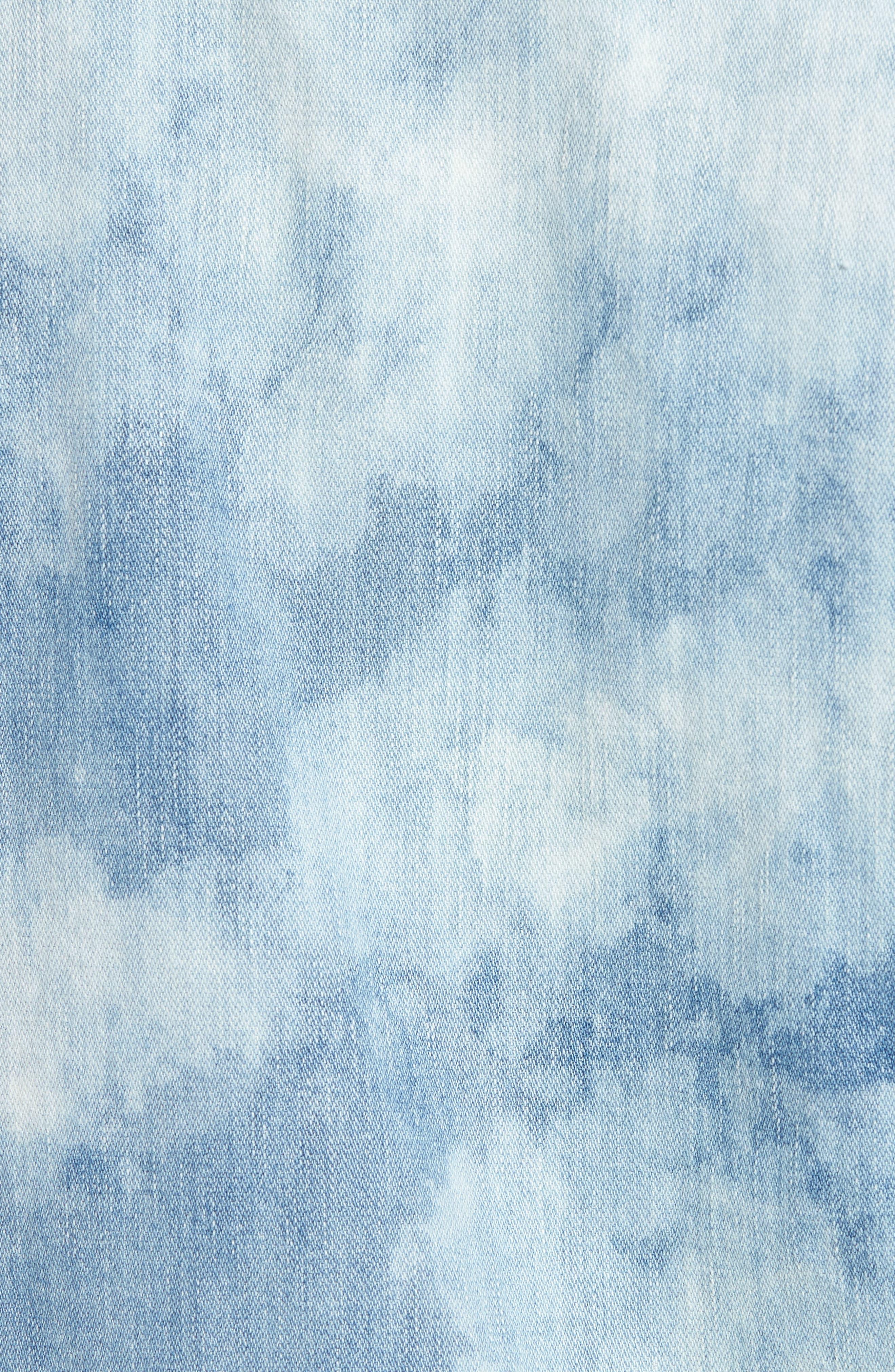 Dylan Denim Jacket,                             Alternate thumbnail 5, color,                             Blue