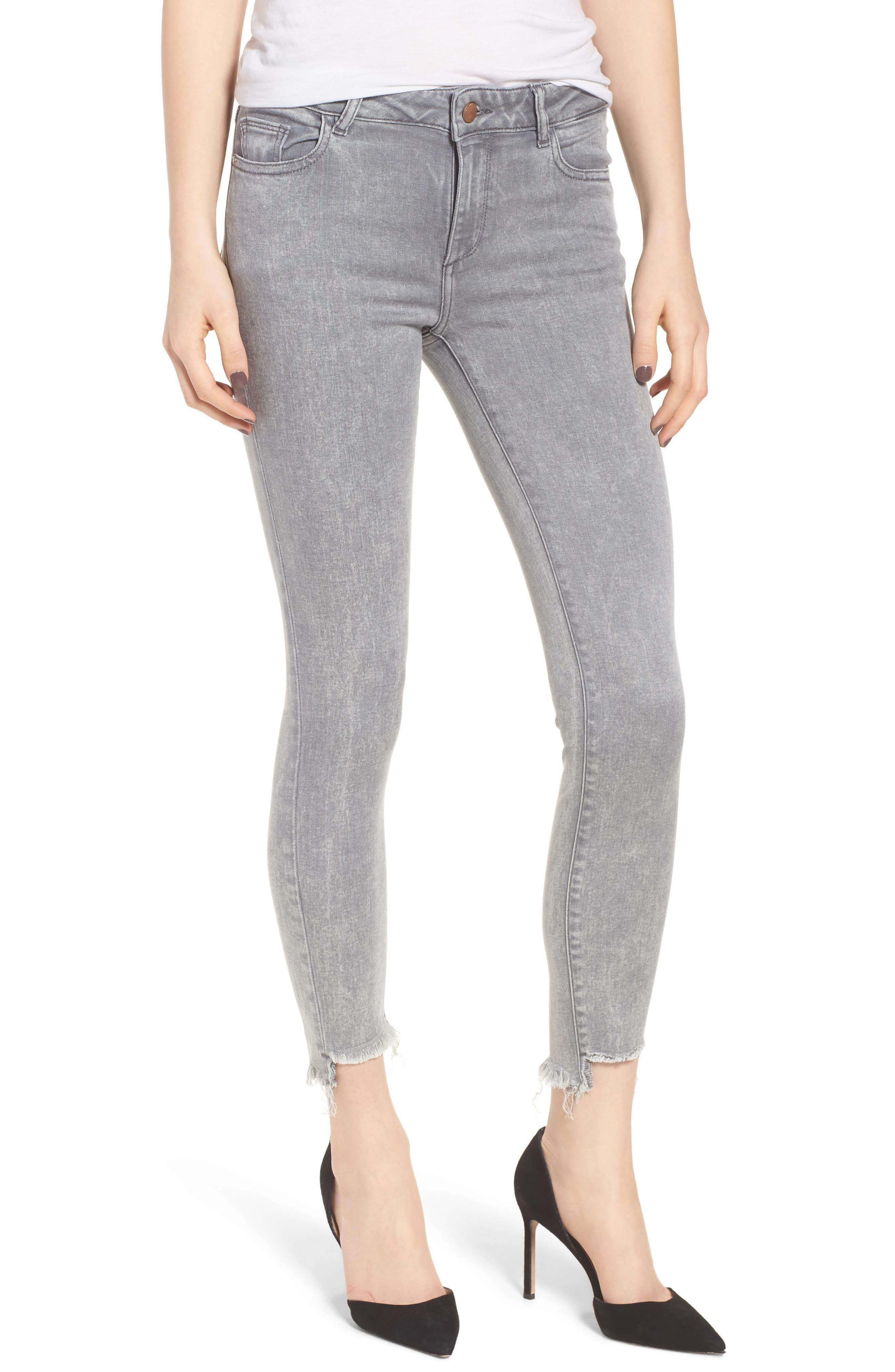 DL1961 Florence Instasculpt Crop Skinny Jeans (Nova)