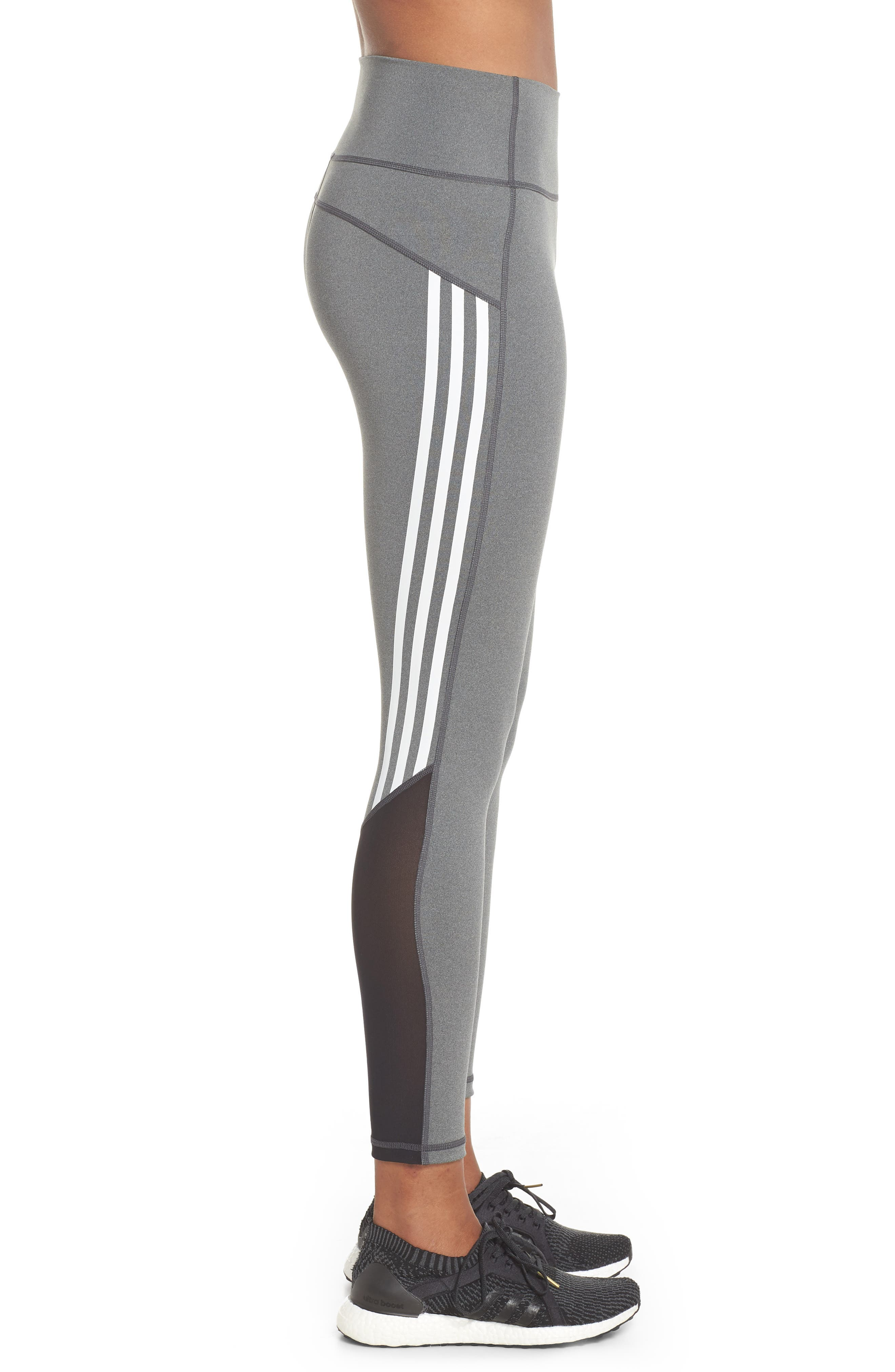 Believe This High Rise Tights,                             Alternate thumbnail 3, color,                             Grey