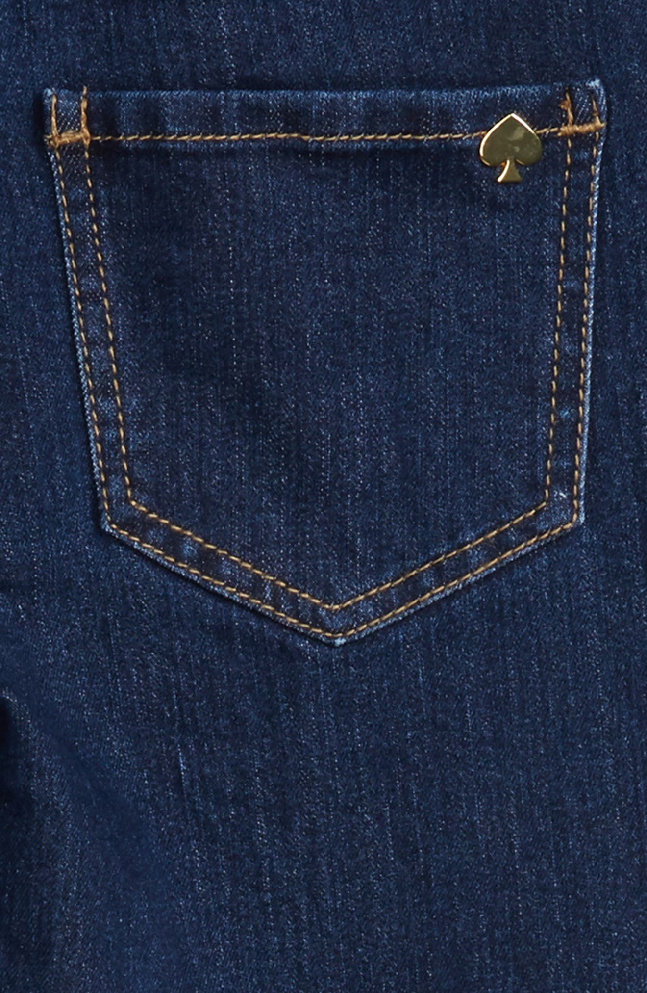 skinny jeans,                             Alternate thumbnail 3, color,                             Denim Indigo